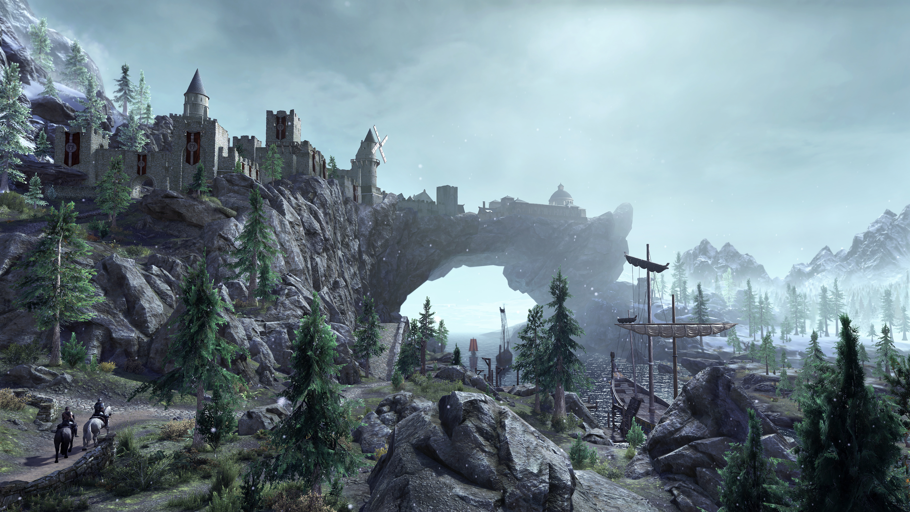 Скриншот №1 к The Elder Scrolls Online Greymoor Collectors Ed. Upgrade
