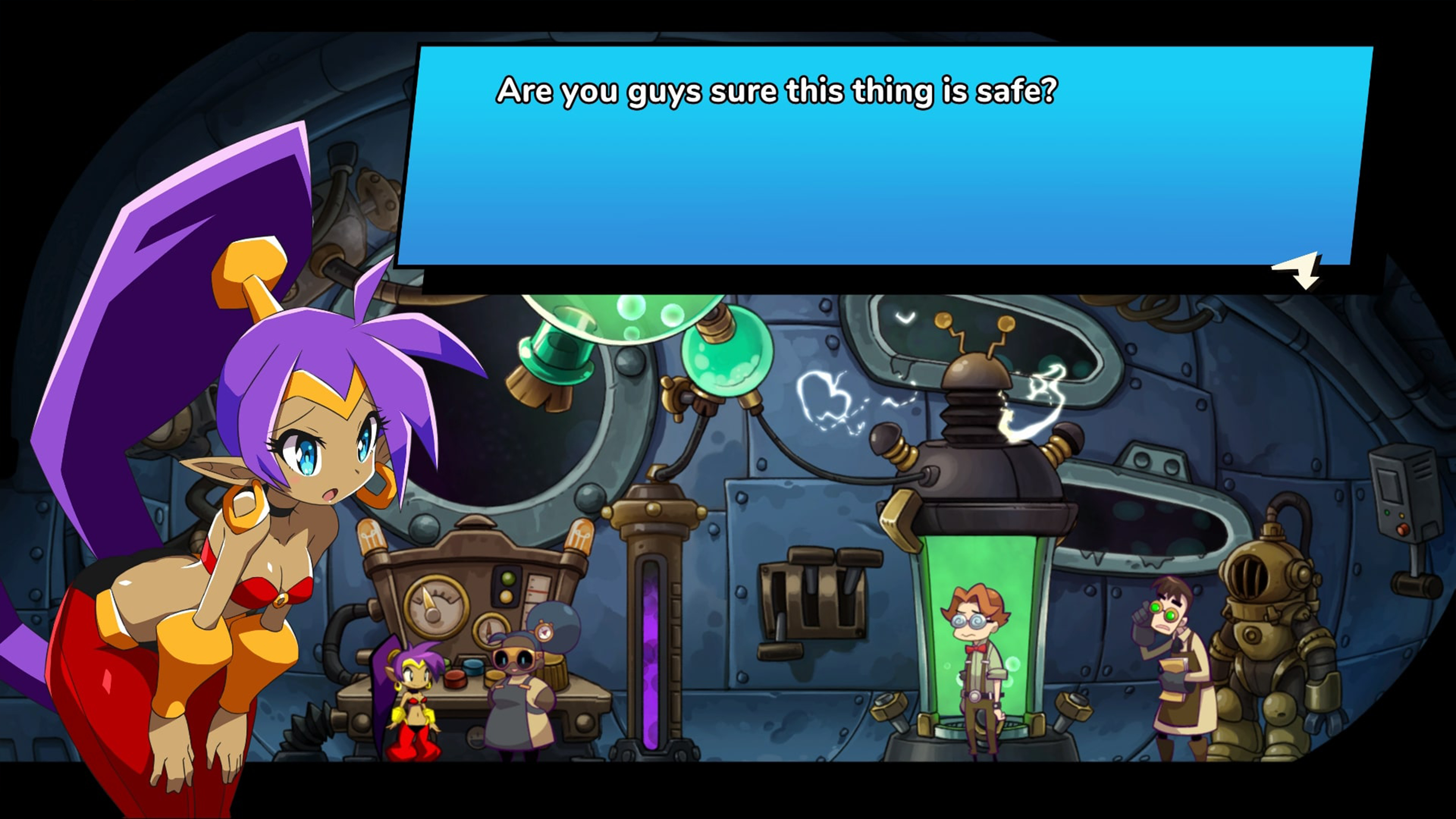 Скриншот №7 к Shantae and the Seven Sirens