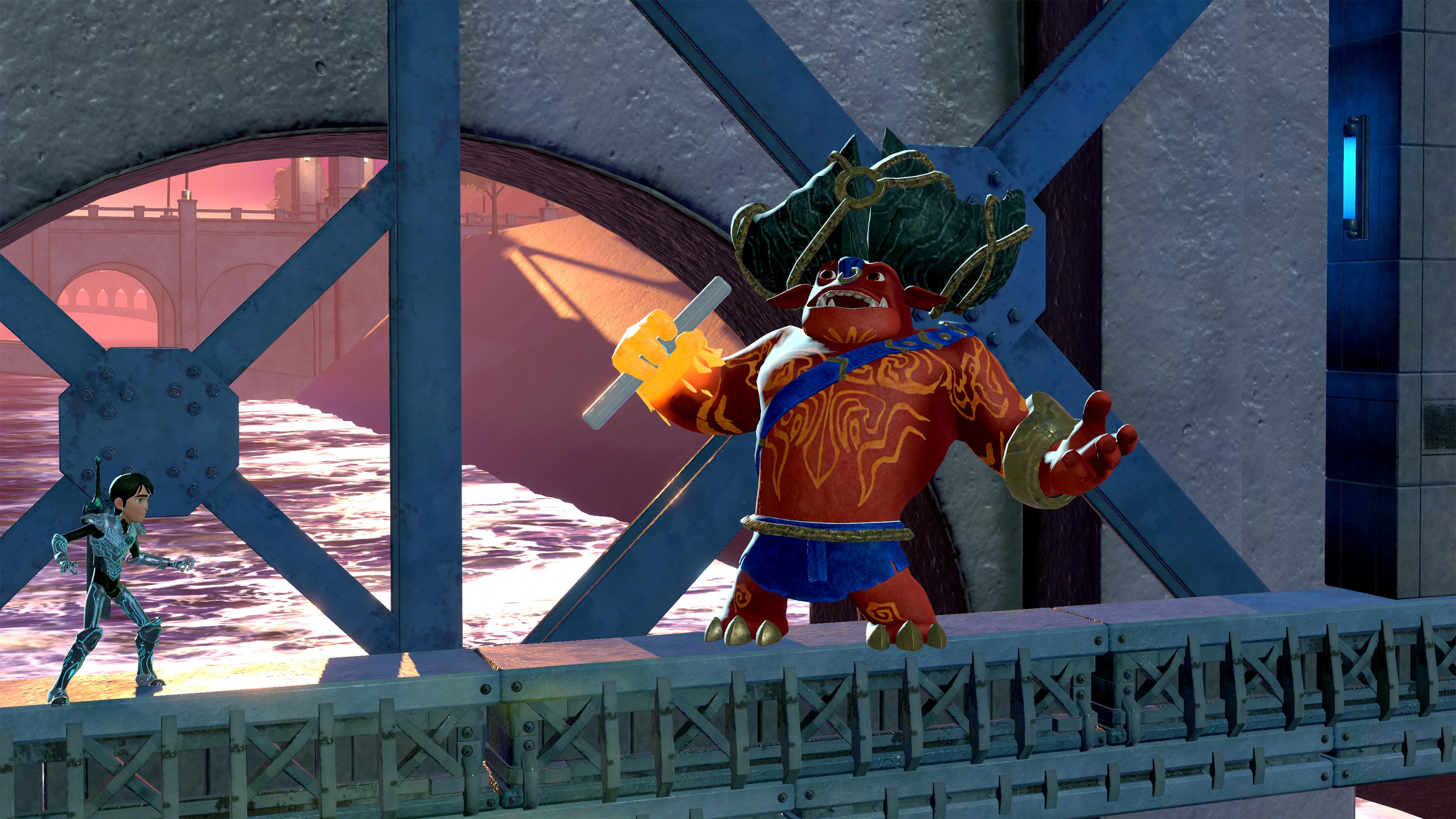 Скриншот №2 к TrollHunters Defenders of Arcadia