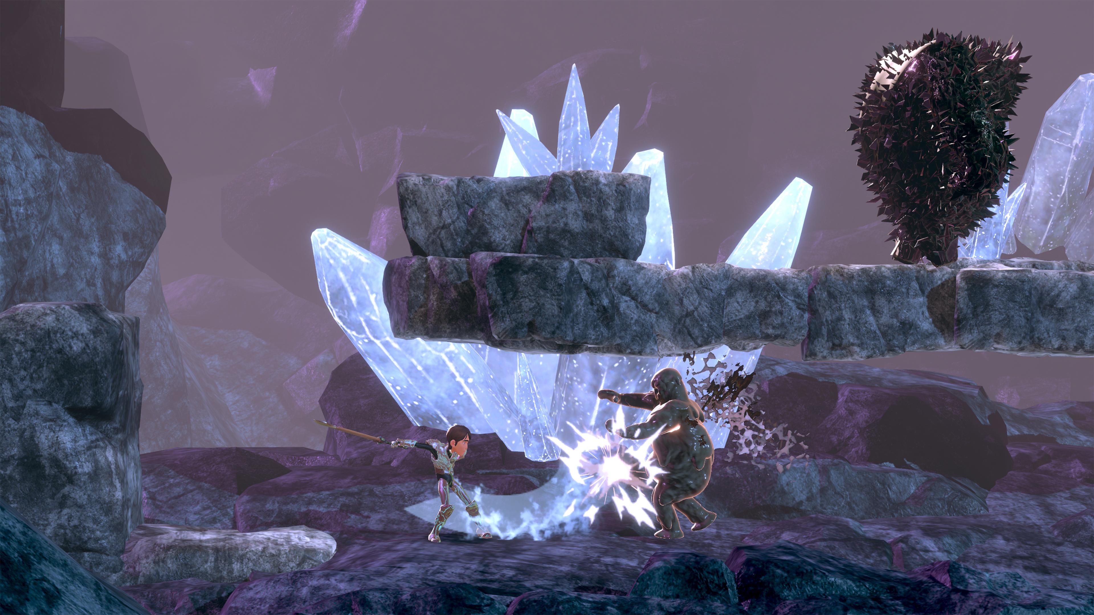 Скриншот №1 к TrollHunters Defenders of Arcadia