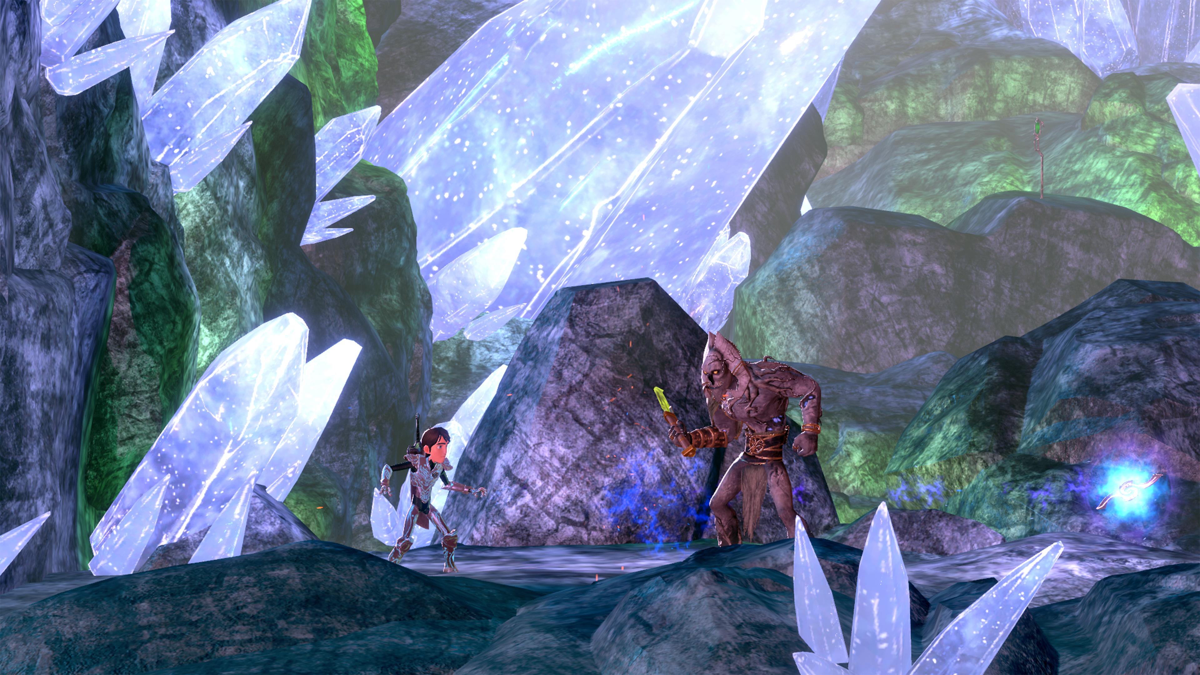 Скриншот №4 к TrollHunters Defenders of Arcadia