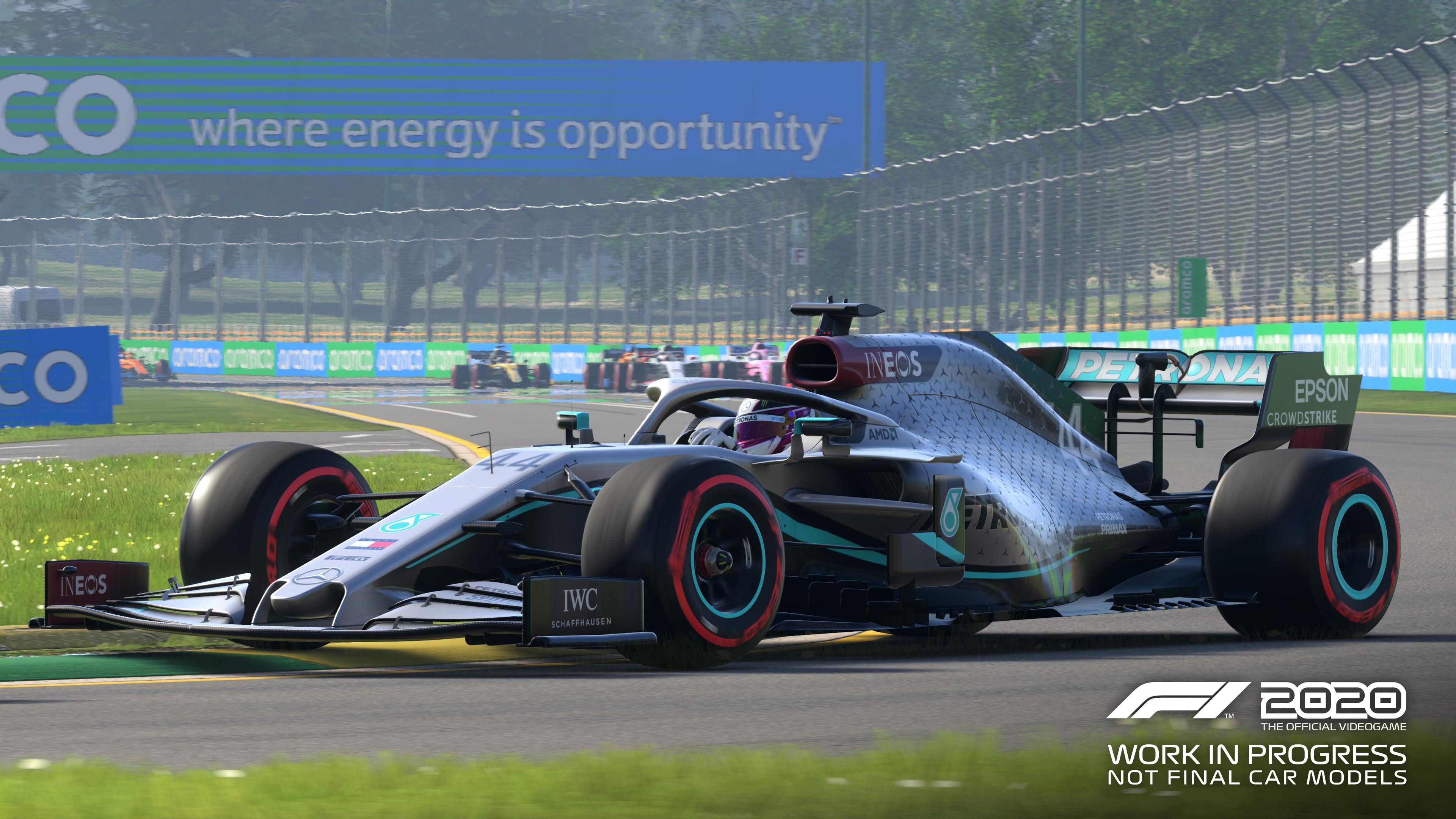 Скриншот №1 к F1 2020 - Deluxe Schumacher Edition