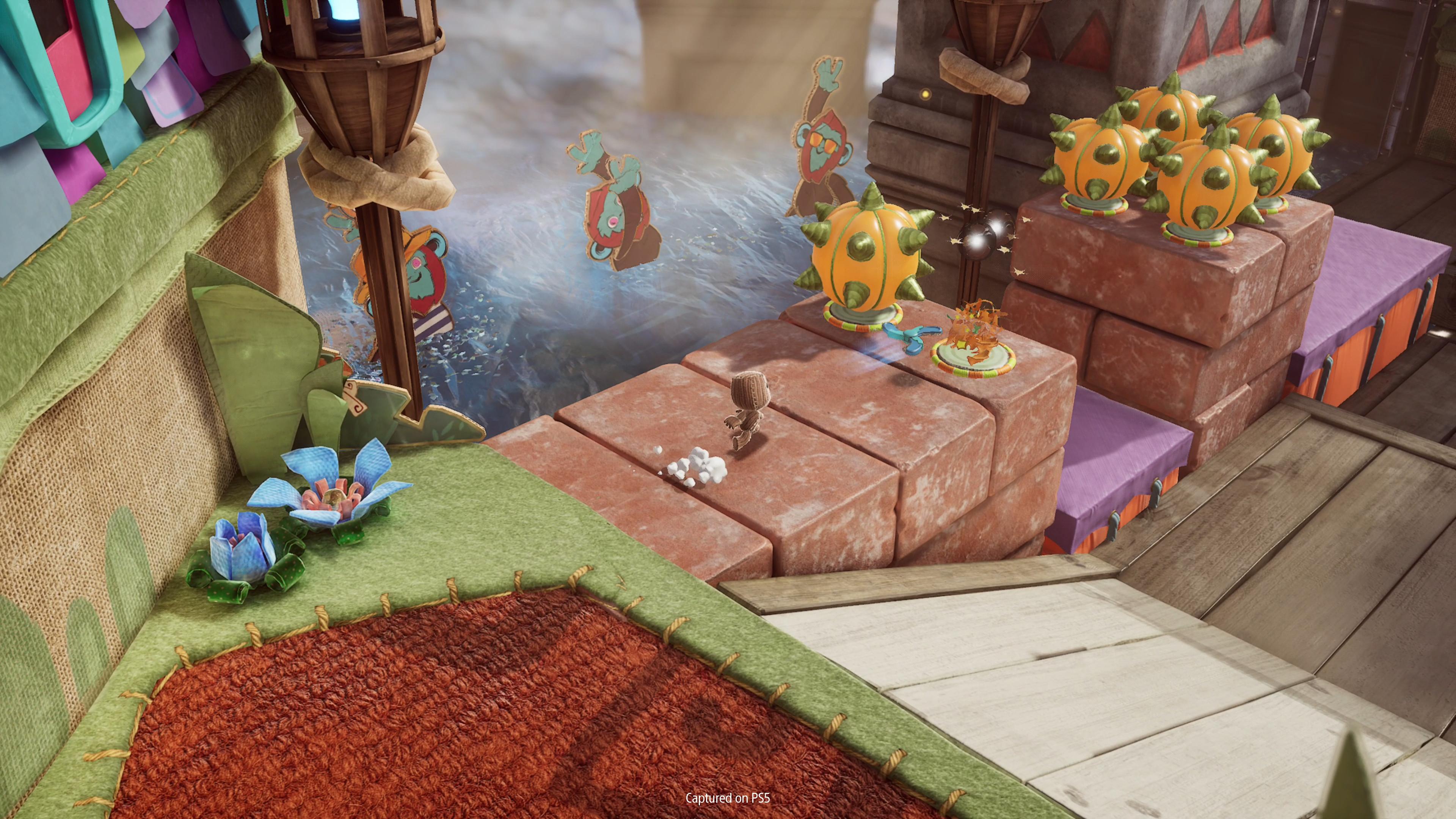 Скриншот №1 к Сэкбой Большое приключение PS4 and PS5