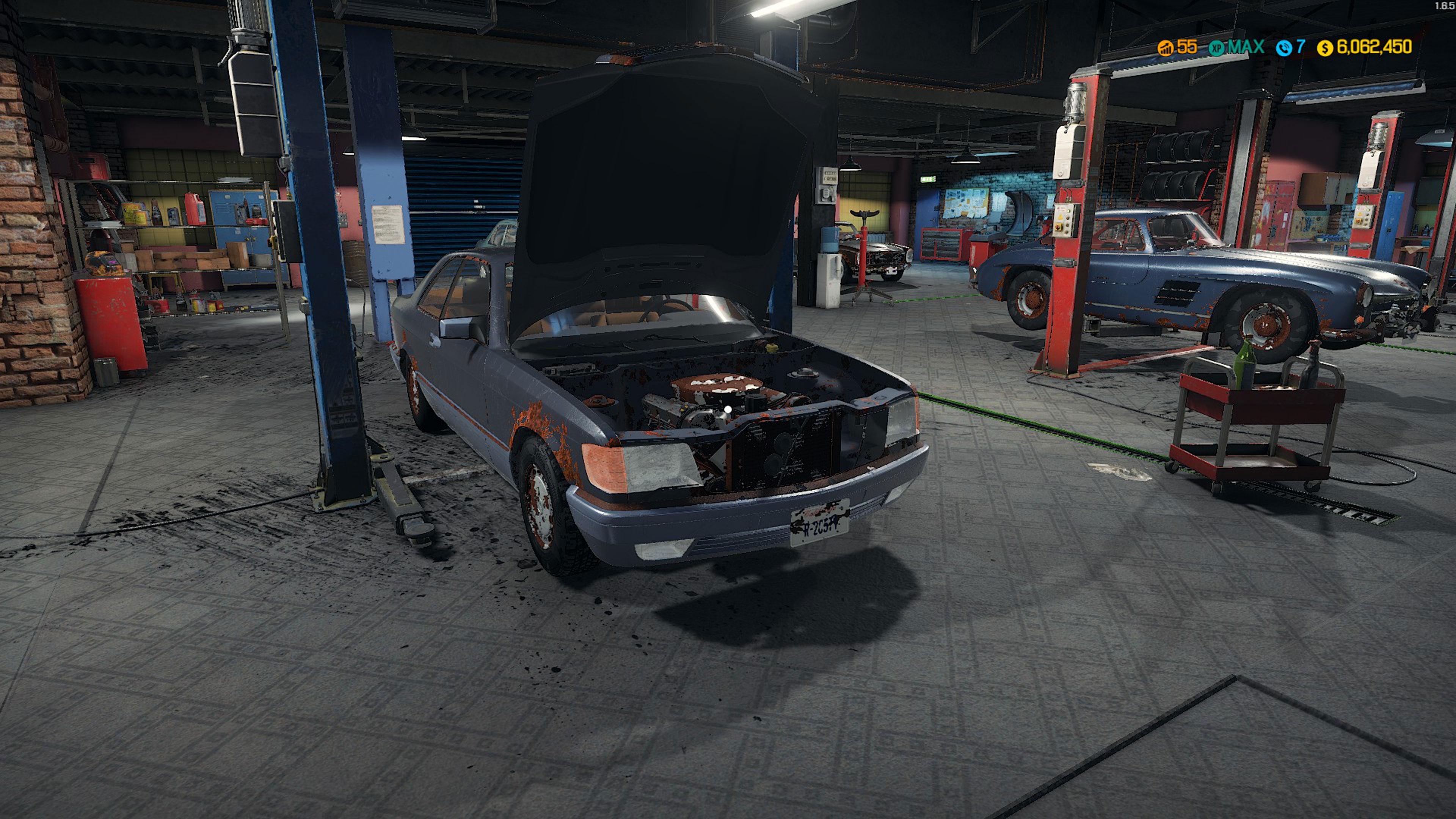 Скриншот №1 к Car Mechanic Simulator - Mercedes-Benz DLC