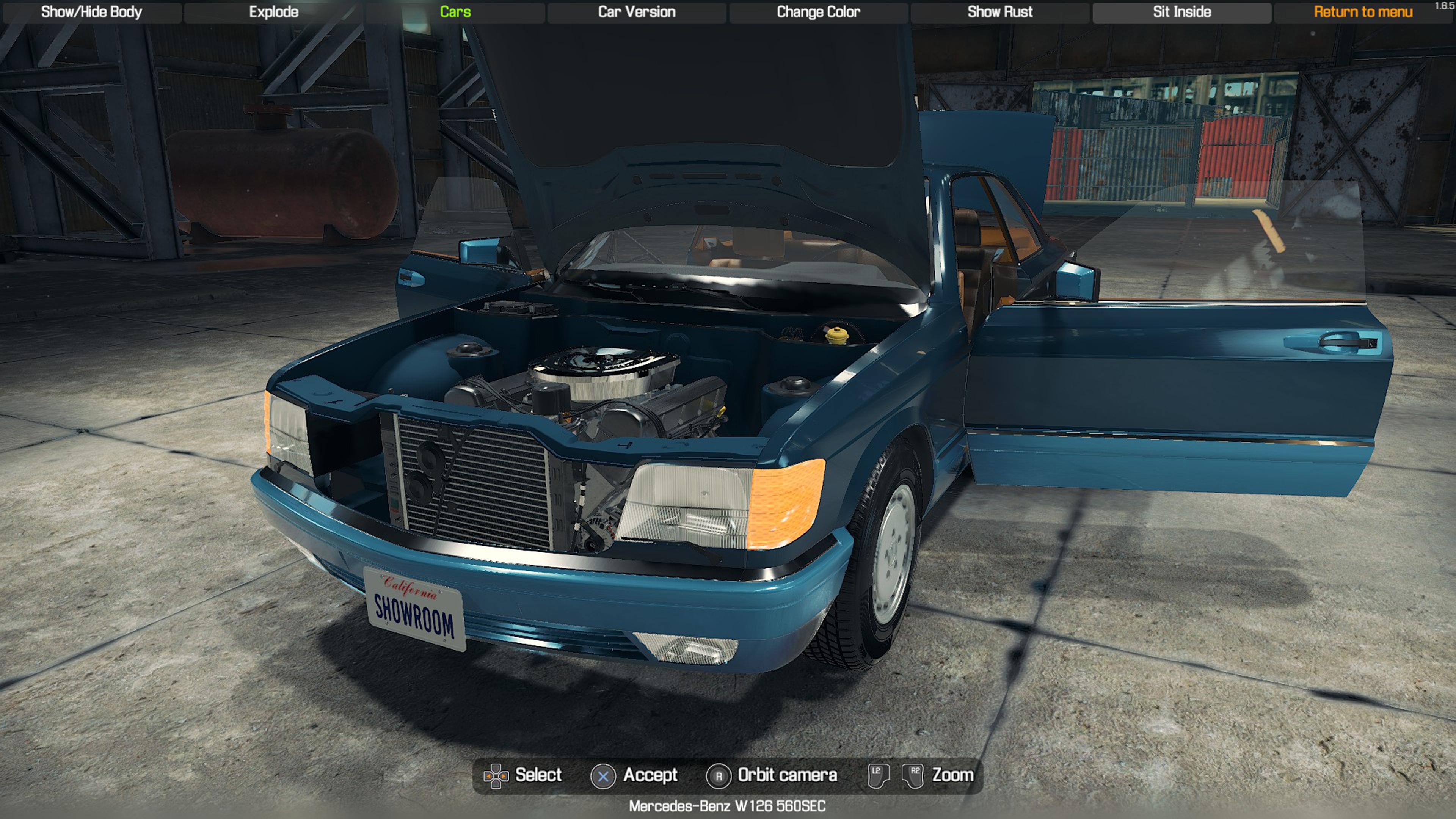Скриншот №8 к Car Mechanic Simulator - Mercedes-Benz DLC