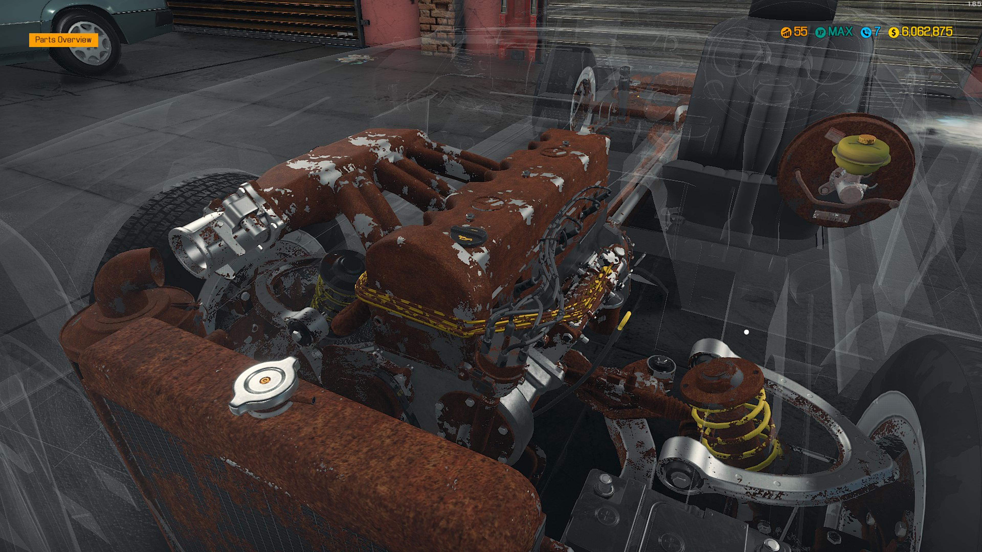 Скриншот №10 к Car Mechanic Simulator - Mercedes-Benz DLC