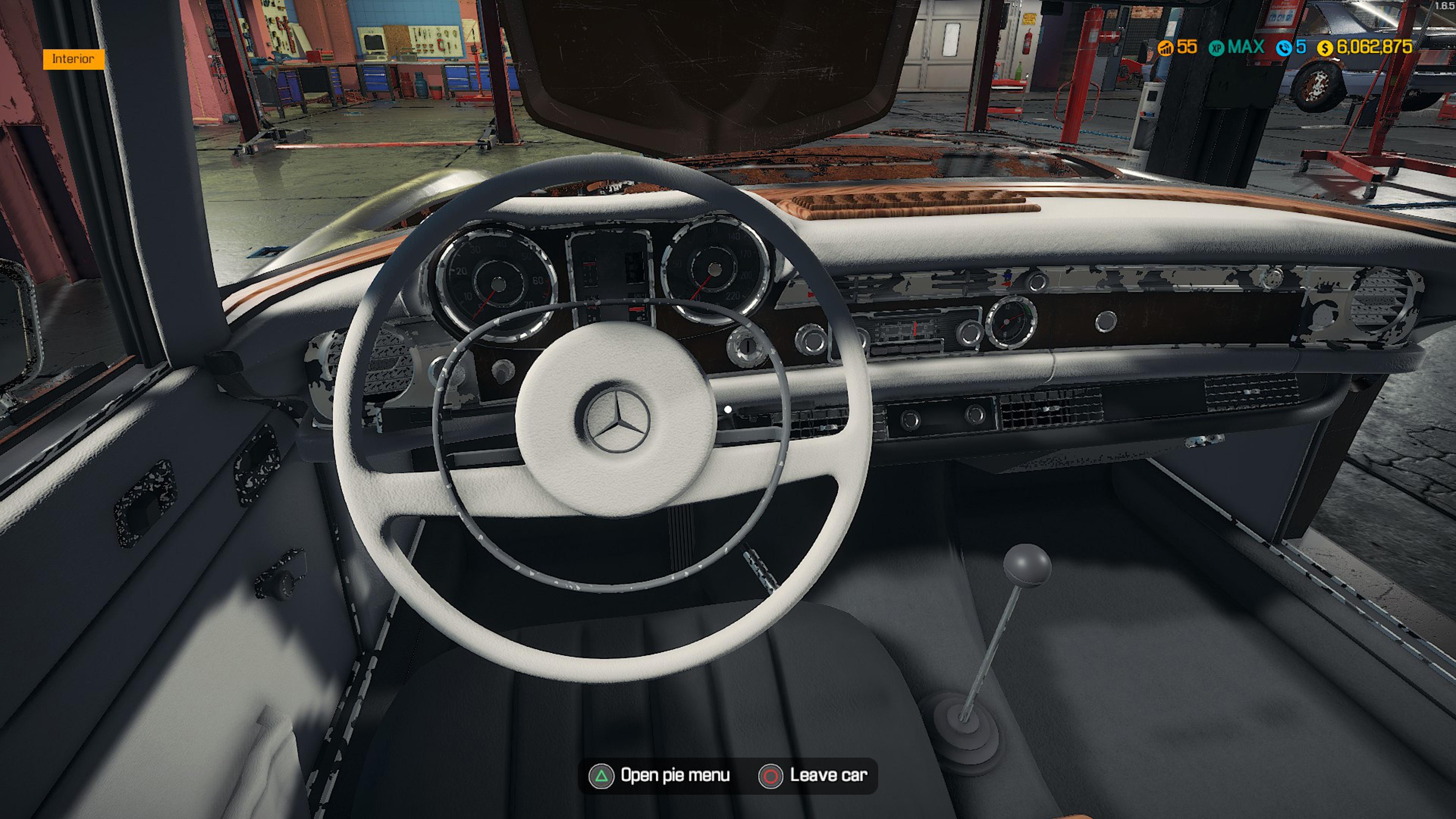Скриншот №4 к Car Mechanic Simulator - Mercedes-Benz DLC