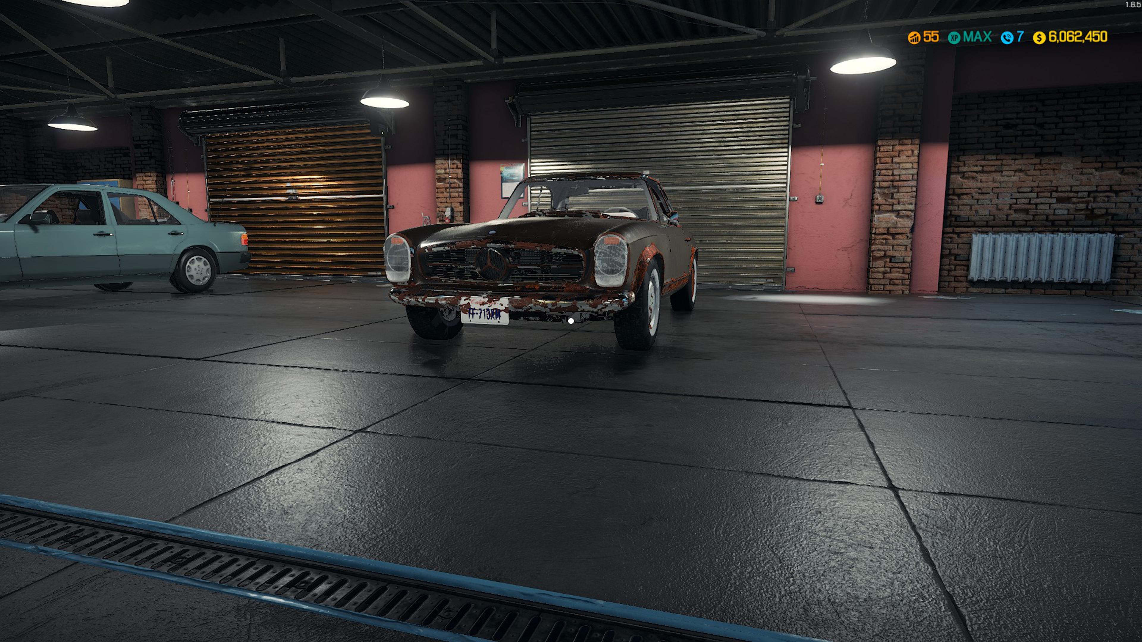 Скриншот №2 к Car Mechanic Simulator - Mercedes-Benz DLC