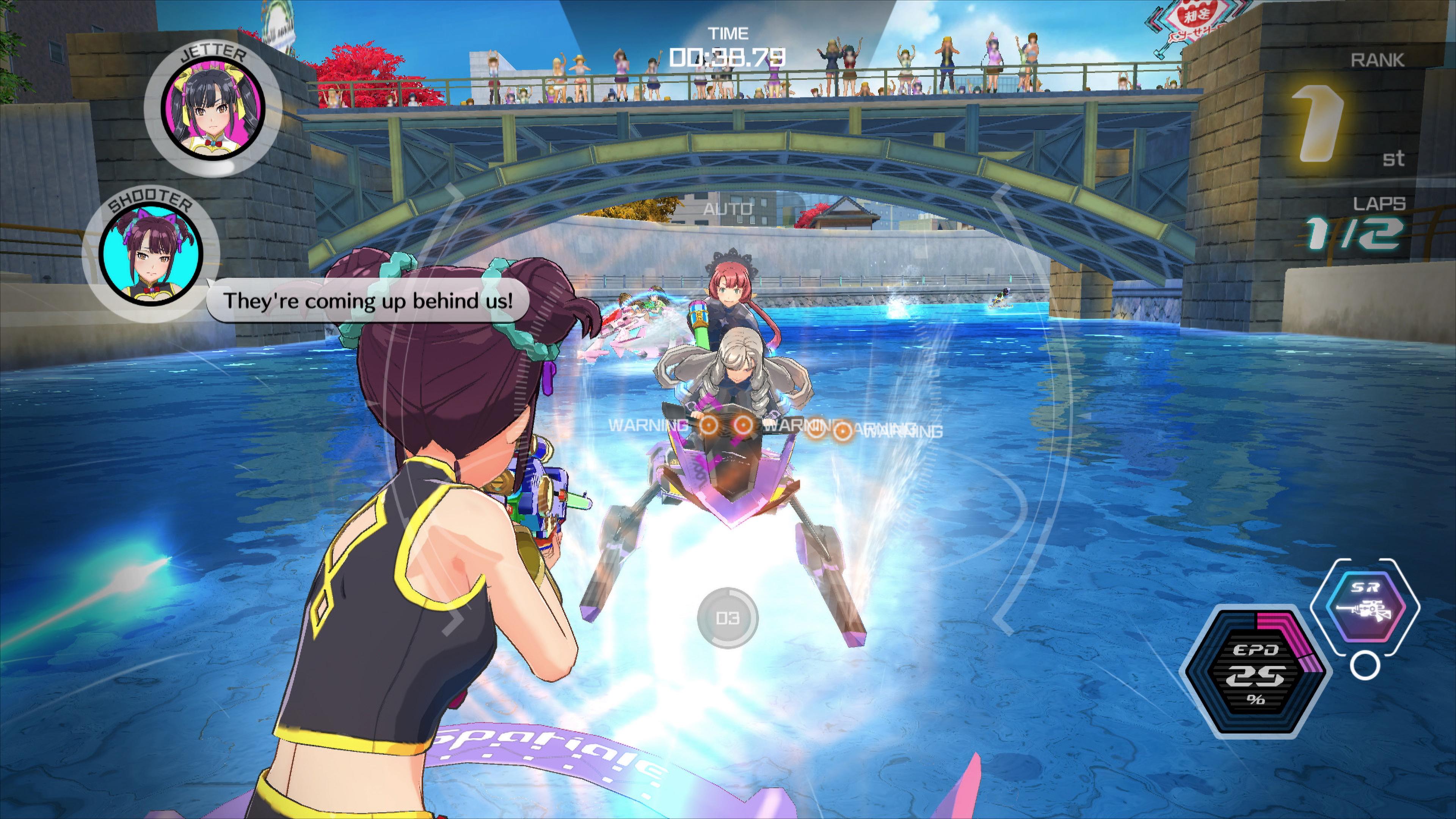 Скриншот №5 к Kandagawa Jet Girls