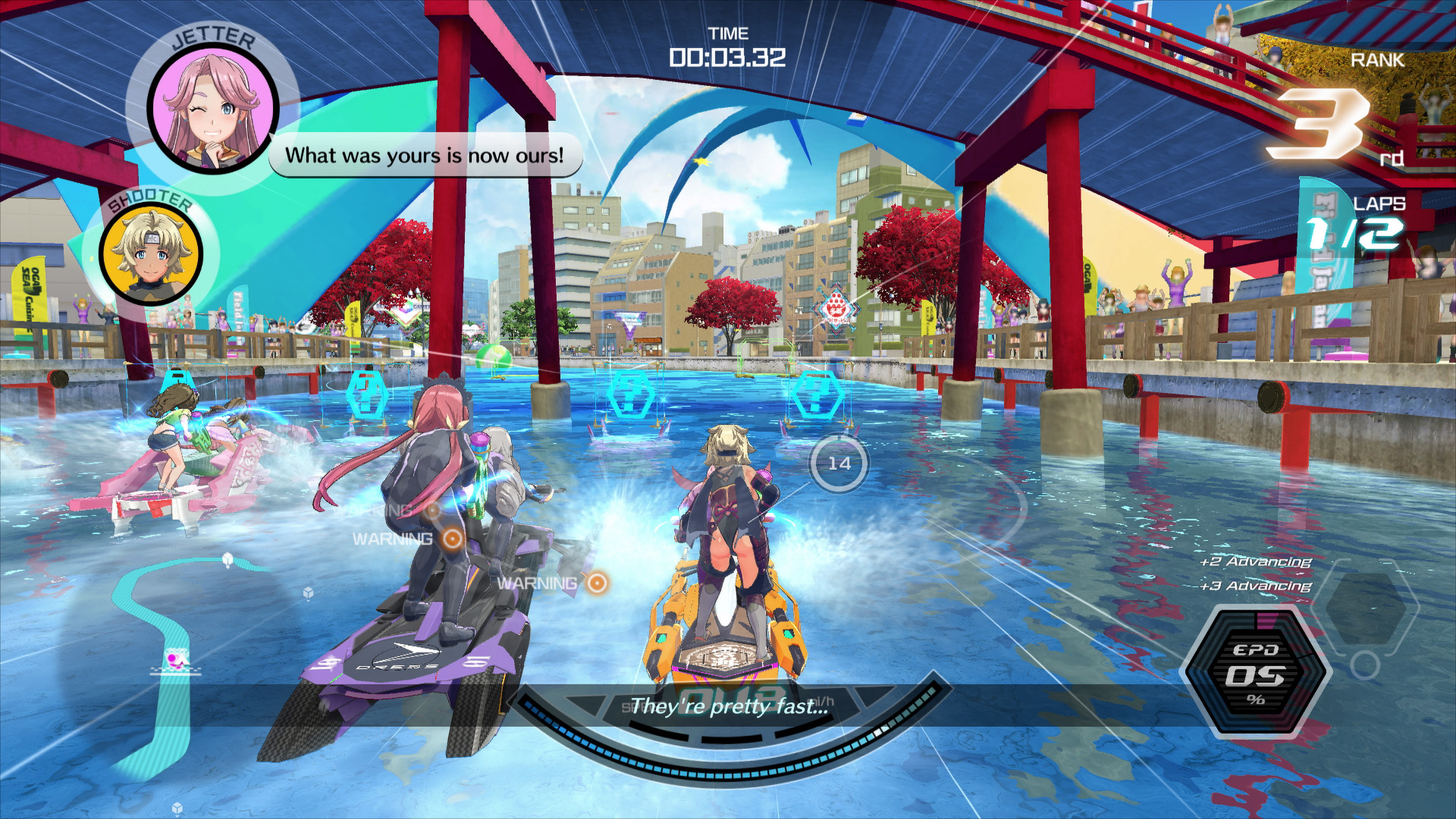 Скриншот №4 к Kandagawa Jet Girls