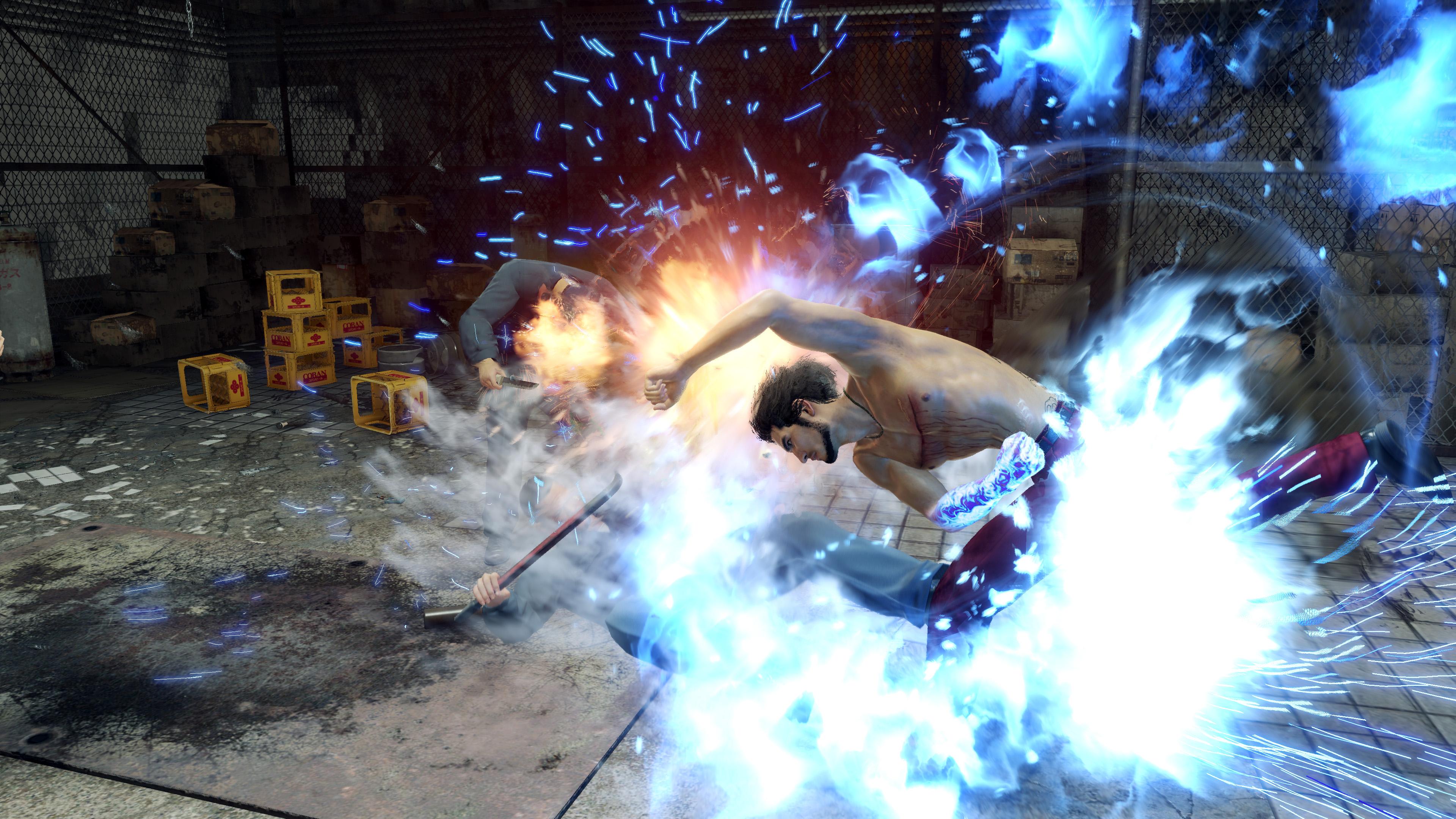 Скриншот №3 к Yakuza Like a Dragon PS4 and PS5