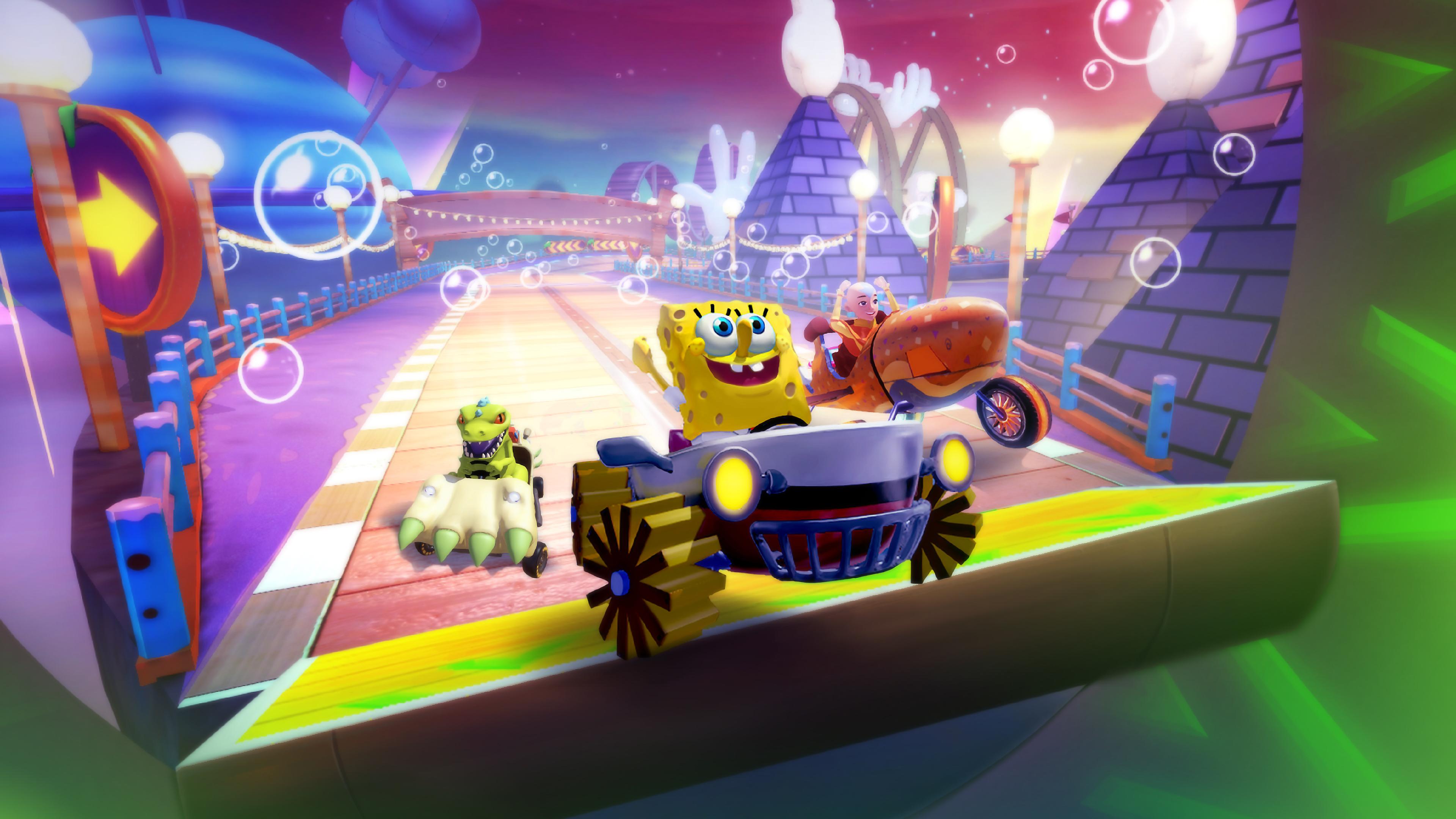 Скриншот №1 к Nickelodeon Kart Racers 2 Grand Prix