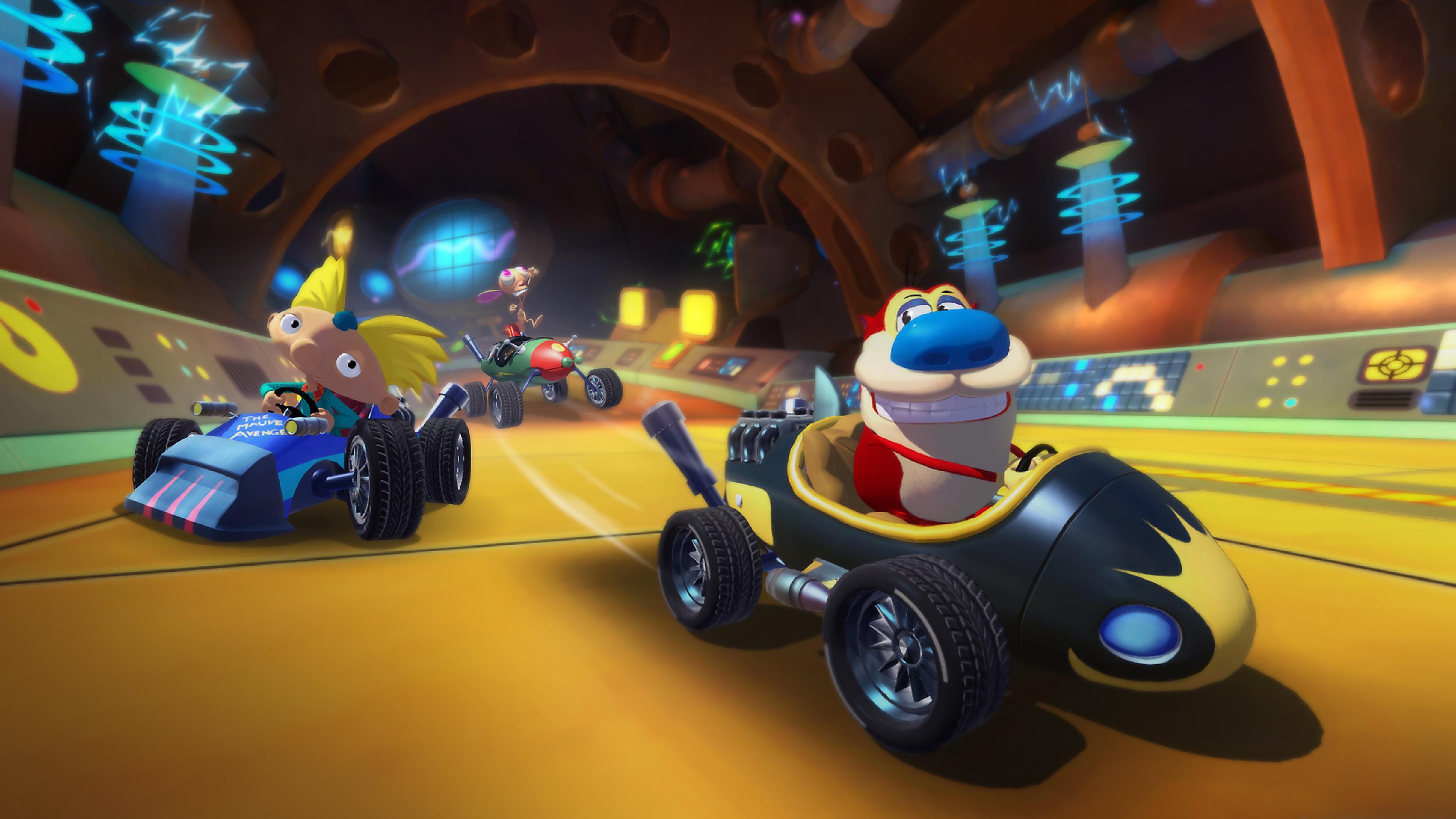 Скриншот №3 к Nickelodeon Kart Racers 2 Grand Prix