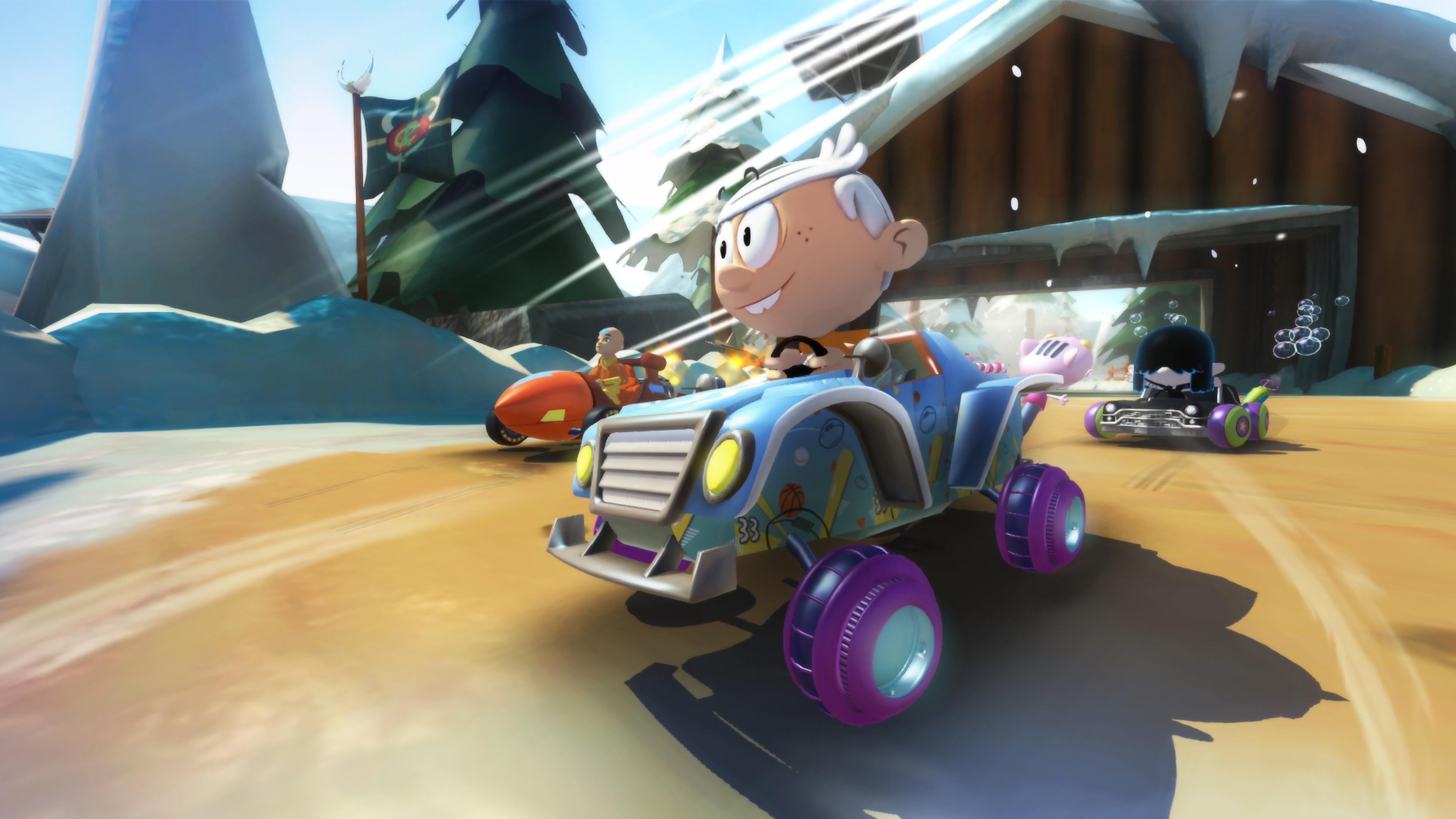 Скриншот №5 к Nickelodeon Kart Racers 2 Grand Prix