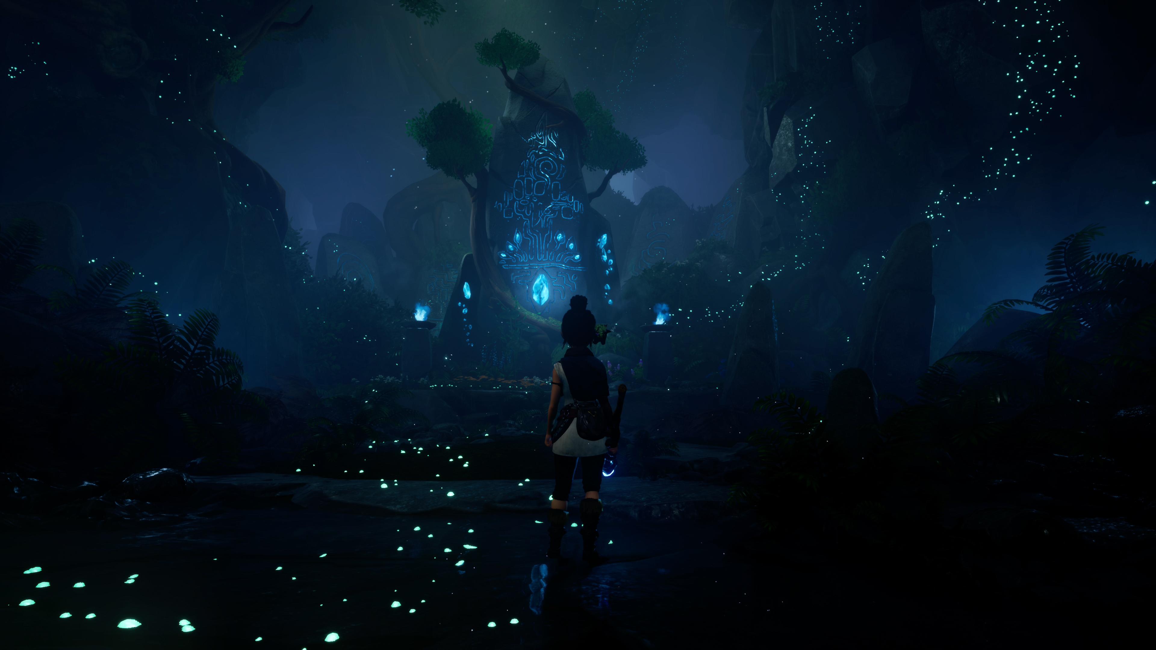 Скриншот №1 к Kena Bridge of Spirits Digital Deluxe PS4 and PS5