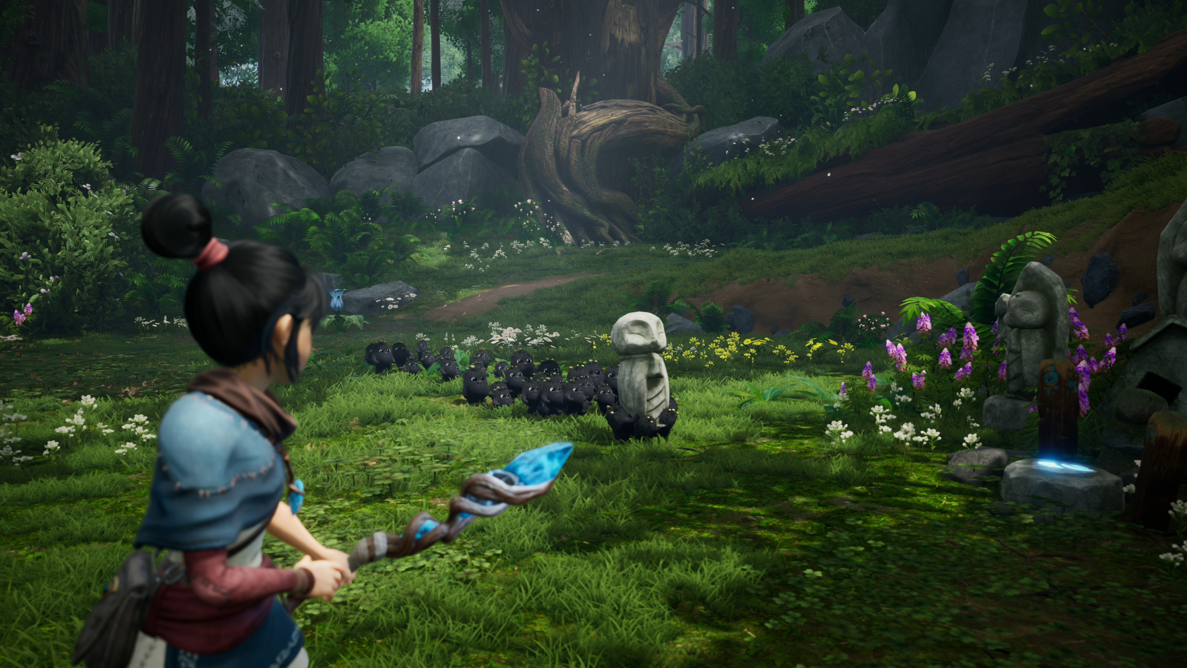 Скриншот №4 к Kena Bridge of Spirits Digital Deluxe PS4 and PS5