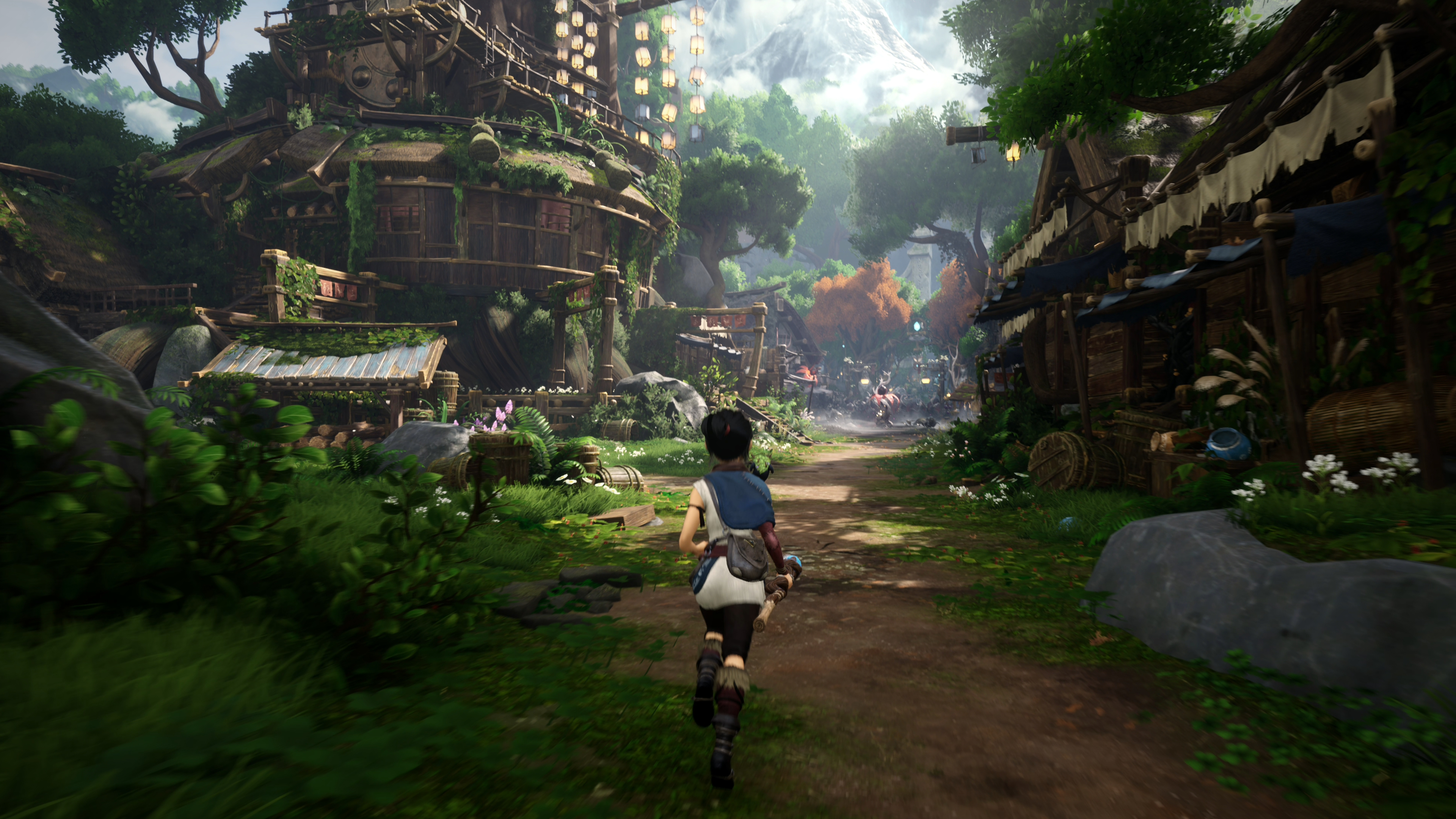 Скриншот №3 к Kena Bridge of Spirits Digital Deluxe PS4 and PS5