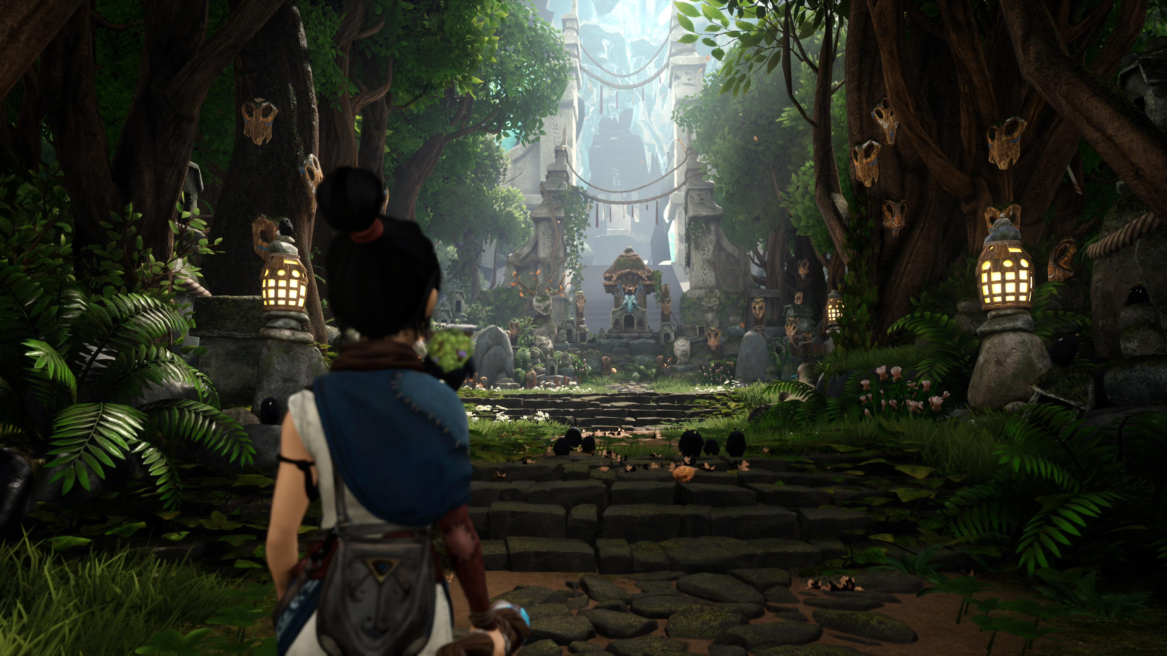 Скриншот №5 к Kena Bridge of Spirits Digital Deluxe PS4 and PS5