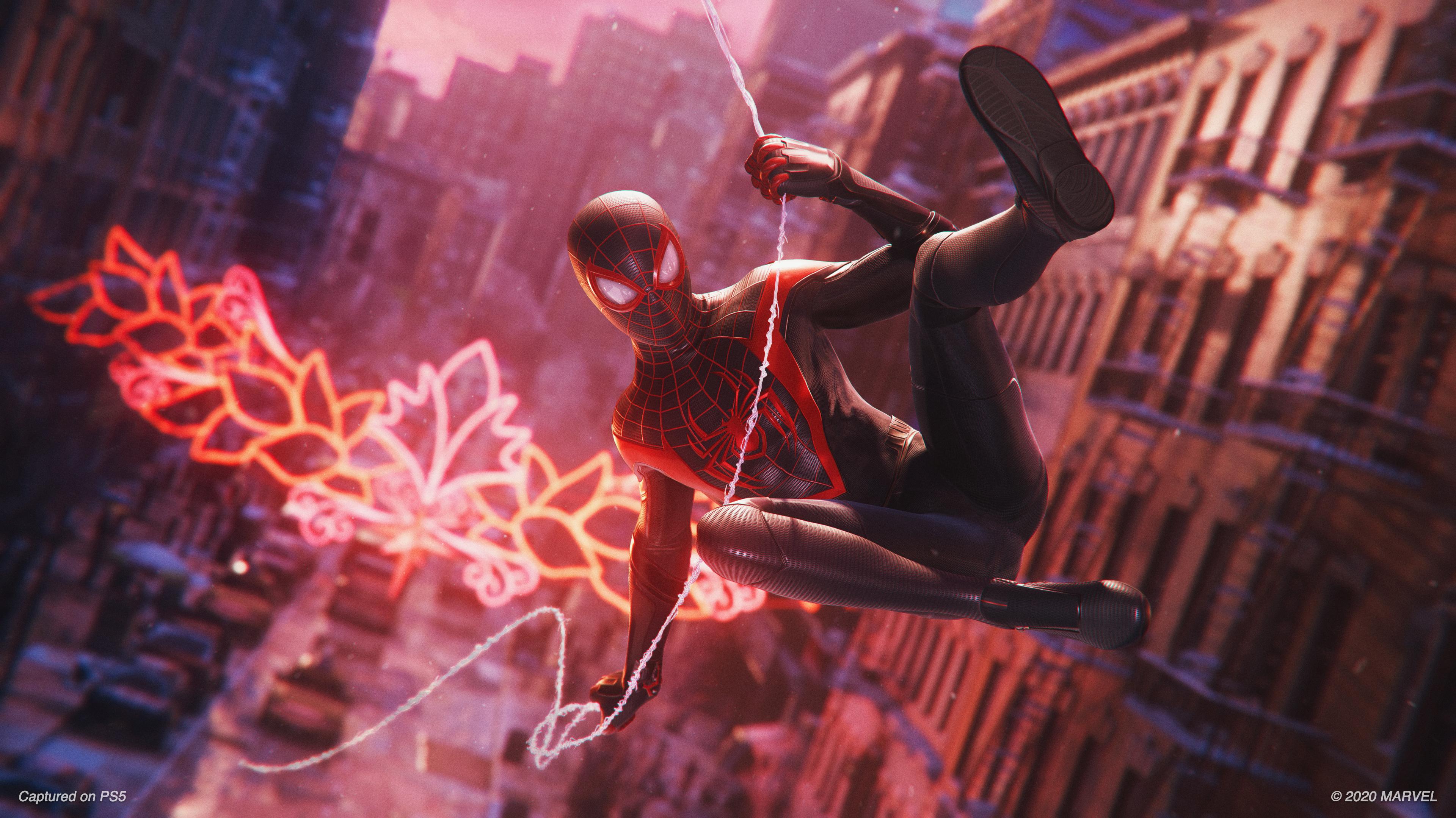 Скриншот №2 к MARVEL Человек-Паук Майлз Моралес PS4 and PS5