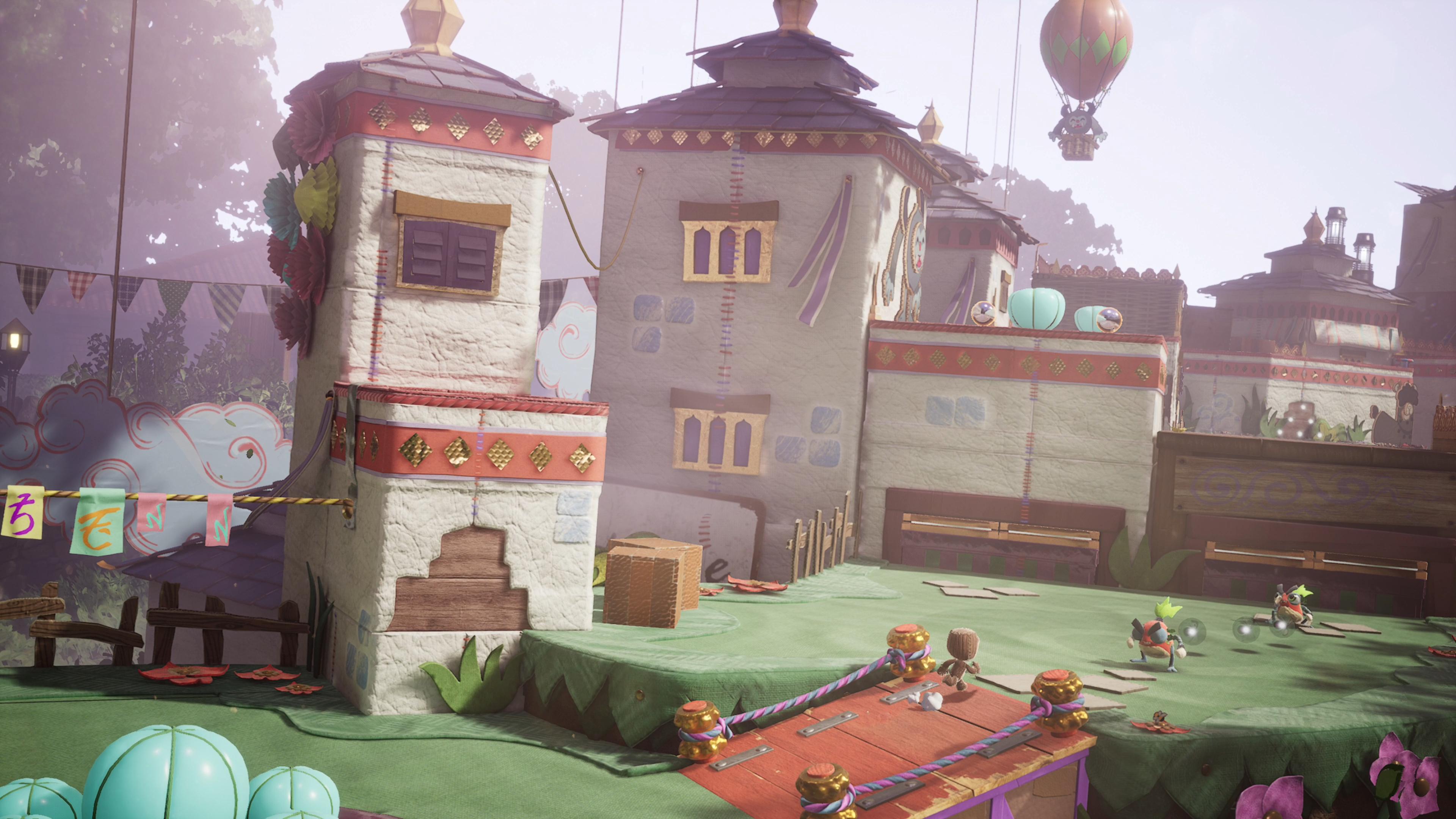 Скриншот №4 к Цифровое расширенное издание Sackboy A Big Adventure PS4 and PS5