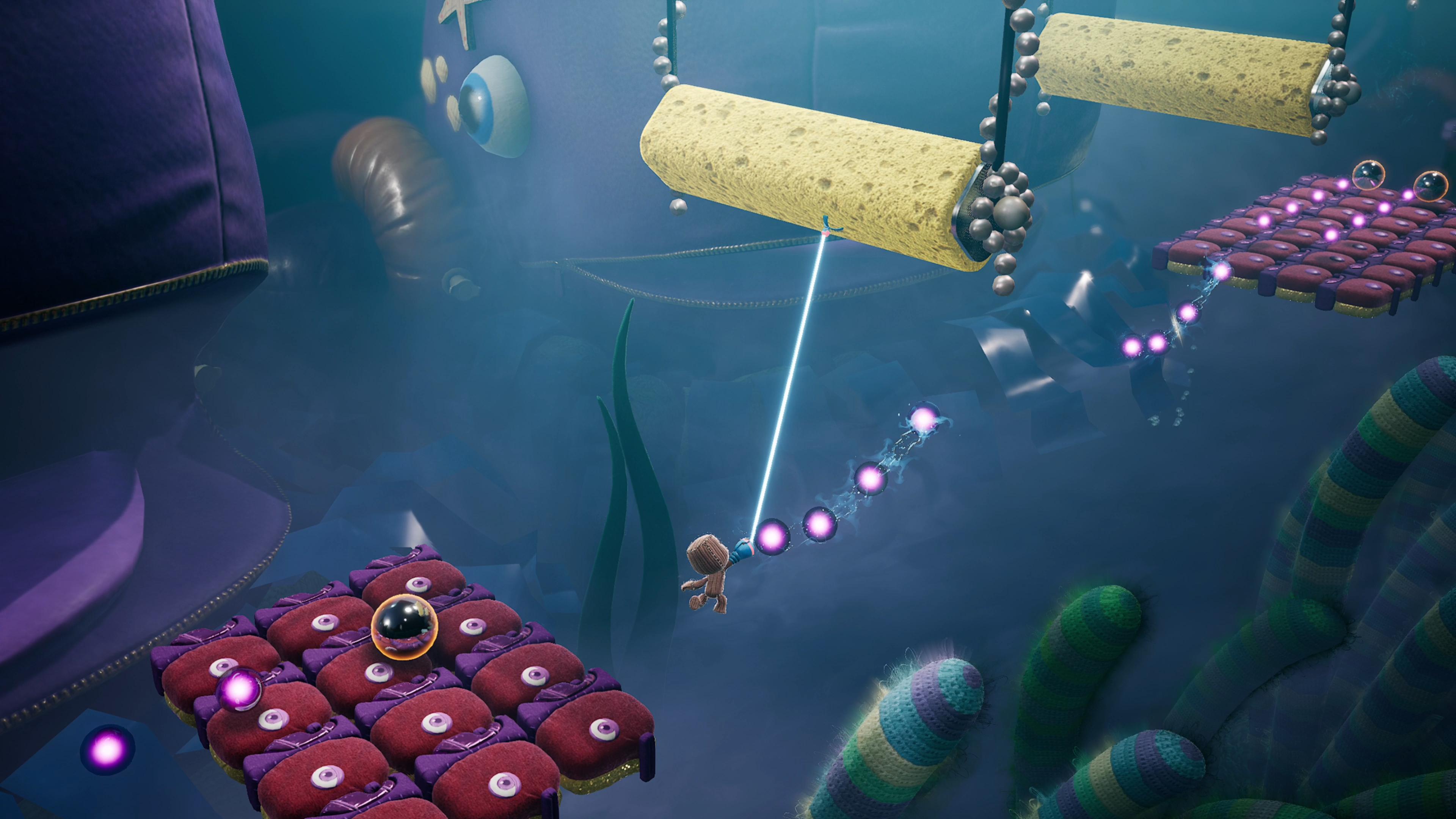 Скриншот №2 к Цифровое расширенное издание Sackboy A Big Adventure PS4 and PS5
