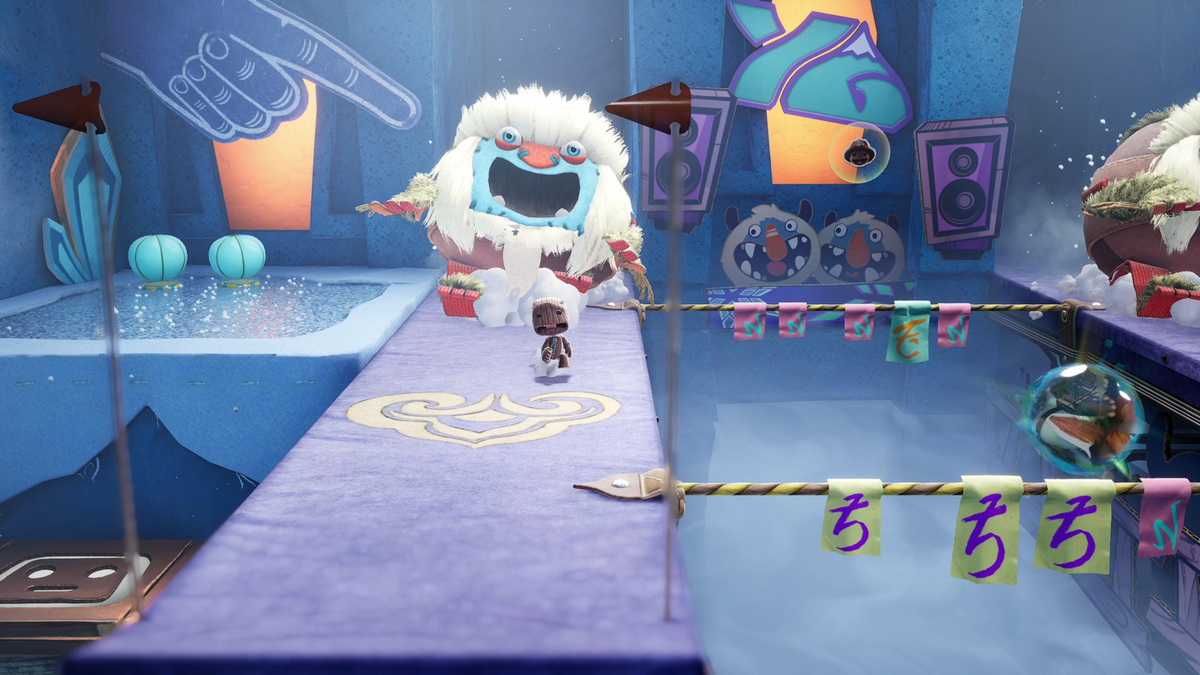 Скриншот №1 к Цифровое расширенное издание Sackboy A Big Adventure PS4 and PS5