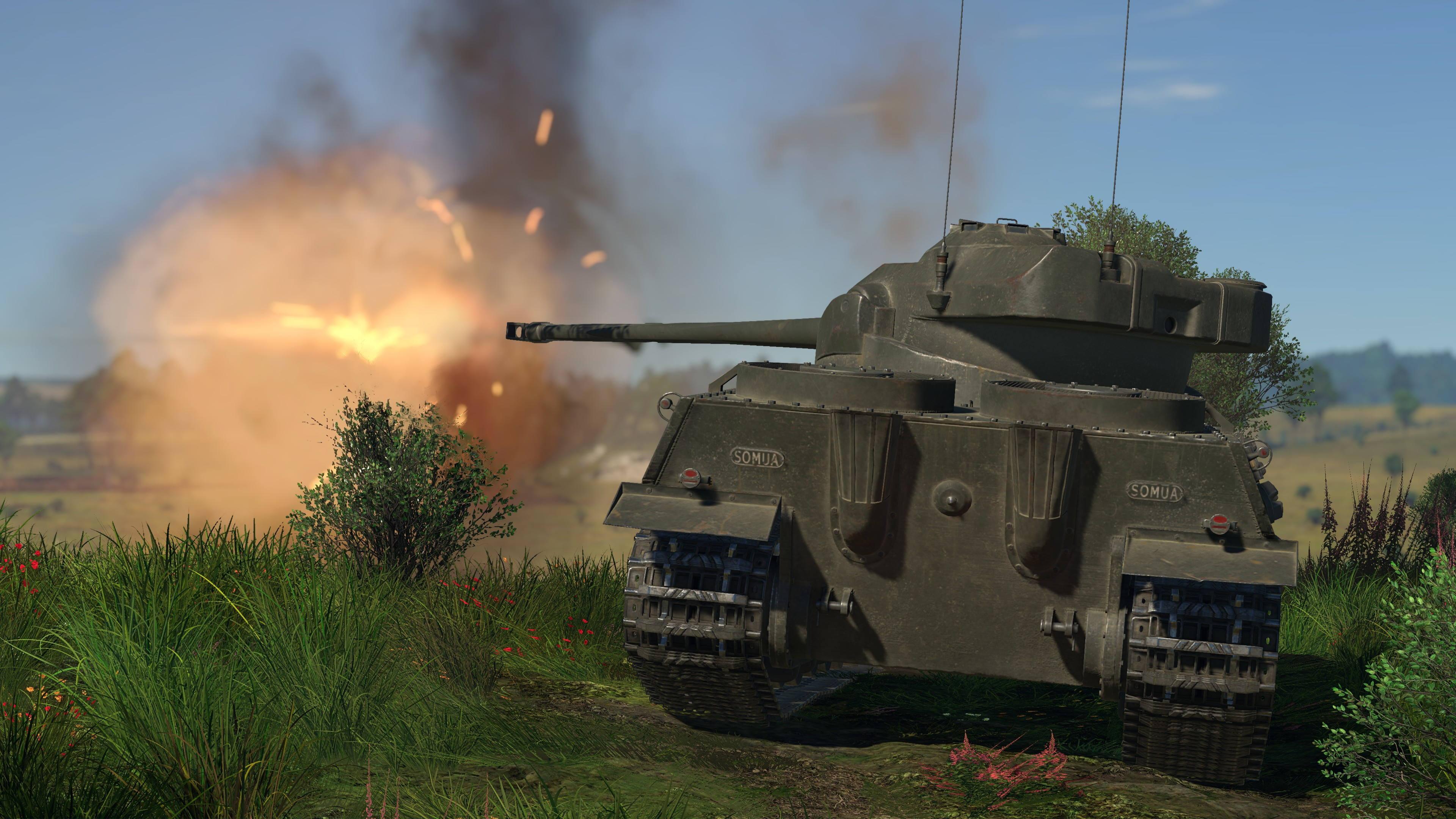 War Thunder - Somua SM on PS4   Official PlayStation™Store US