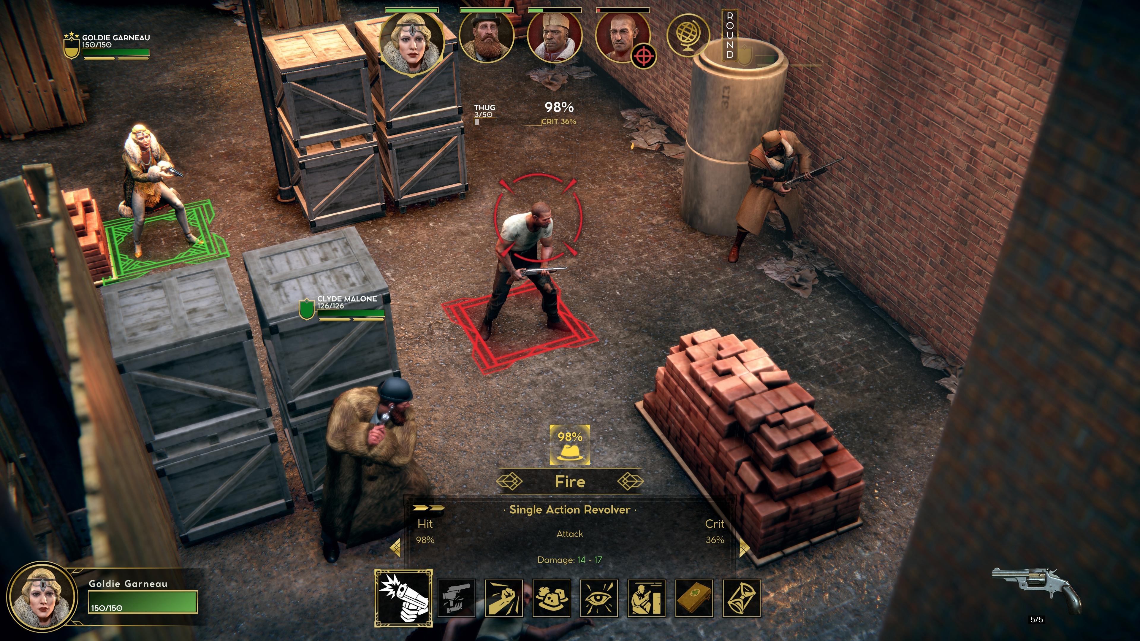 Скриншот №2 к Empire of Sin