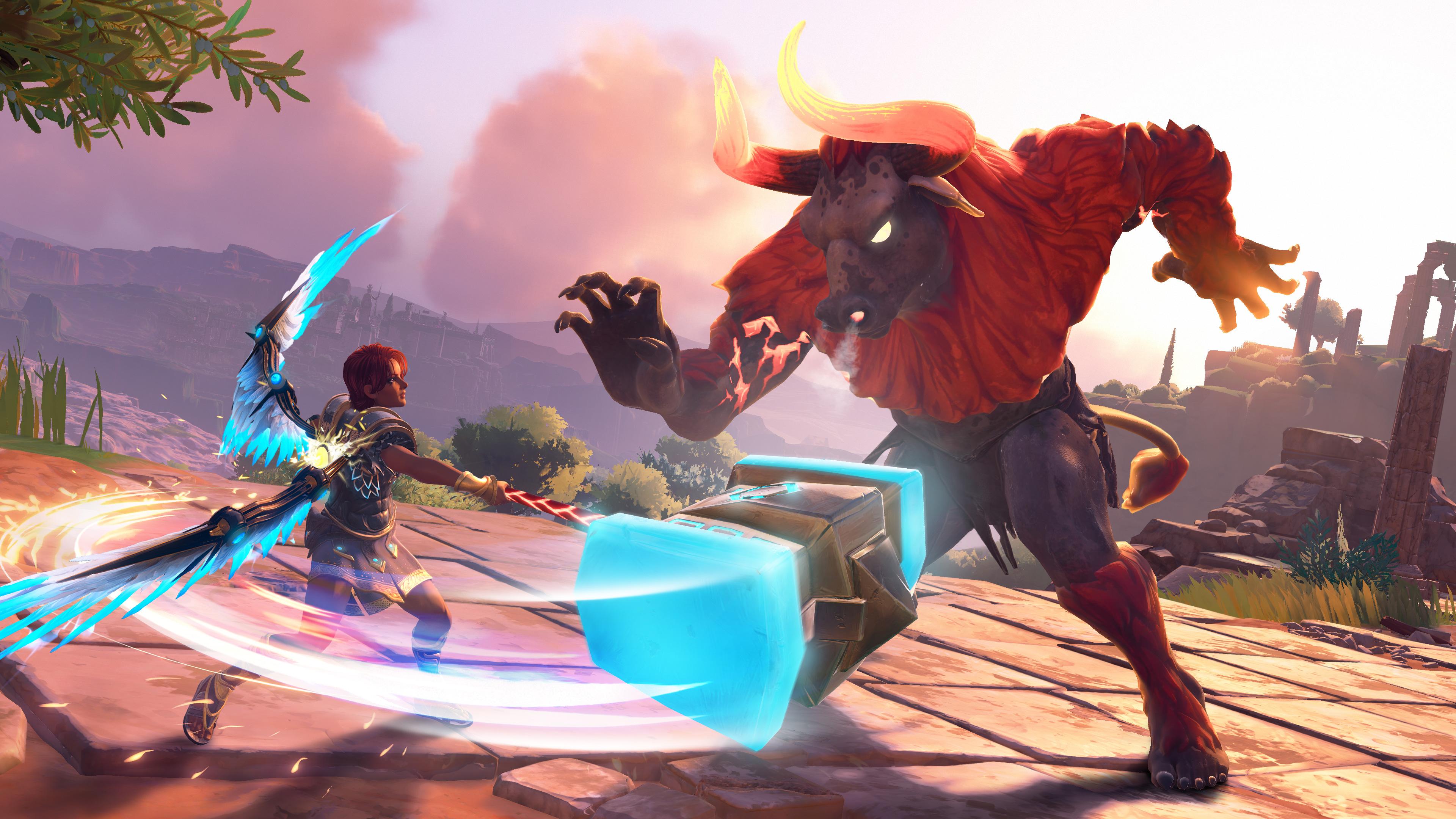 Скриншот №2 к Immortals Fenyx Rising PS4 and PS5