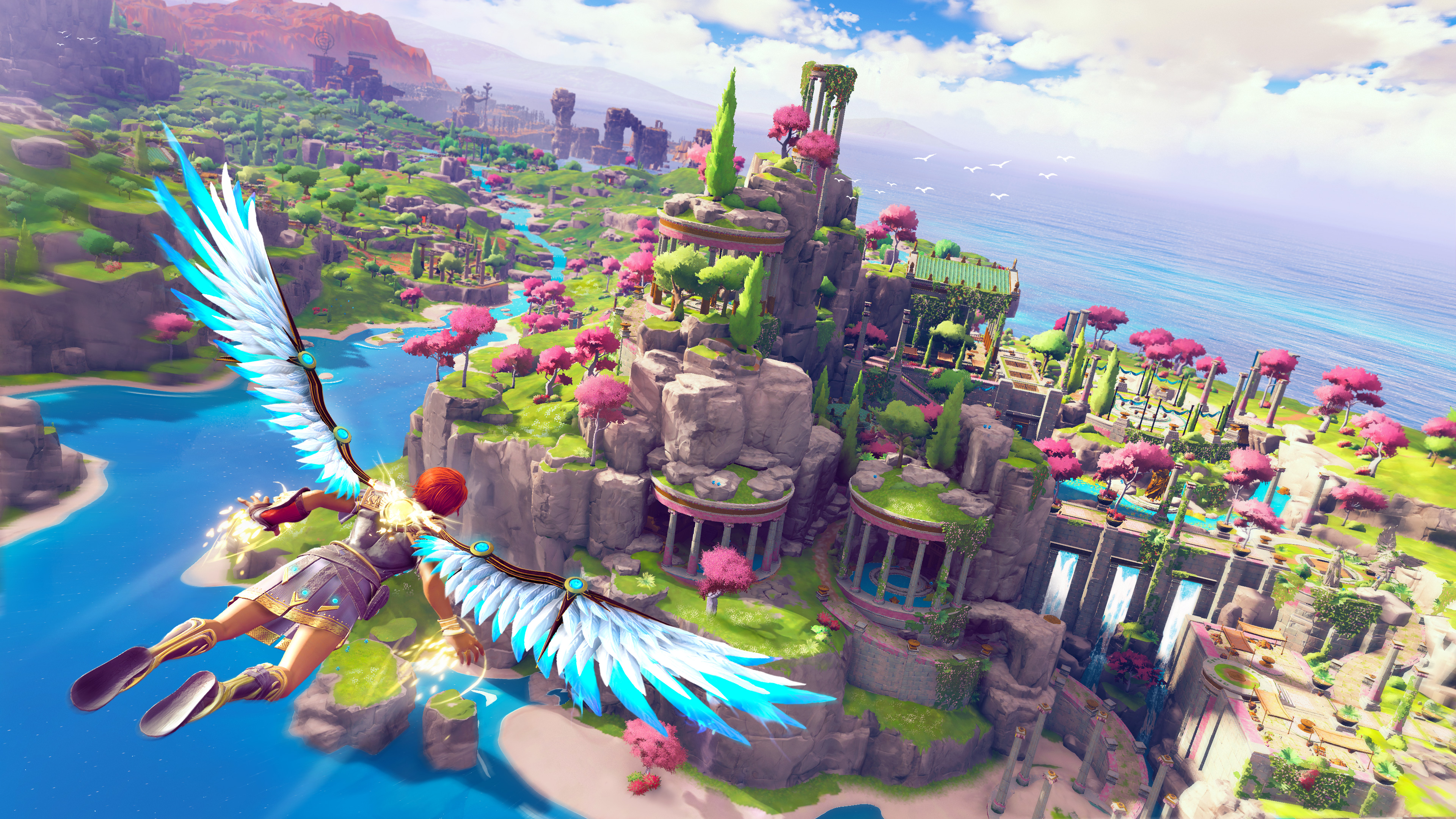 Скриншот №1 к Immortals Fenyx Rising PS4 and PS5
