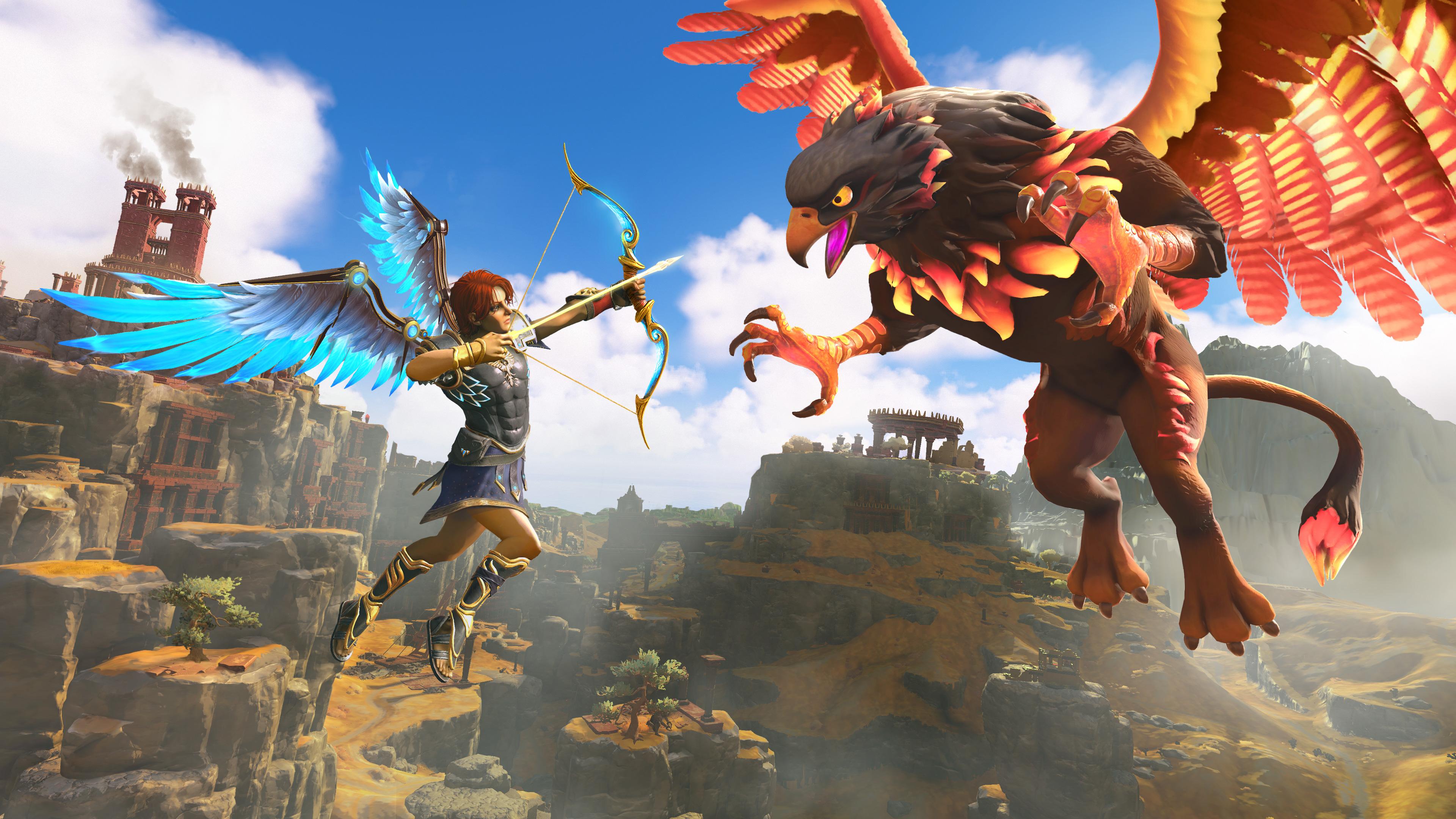 Скриншот №3 к Immortals Fenyx Rising PS4 and PS5