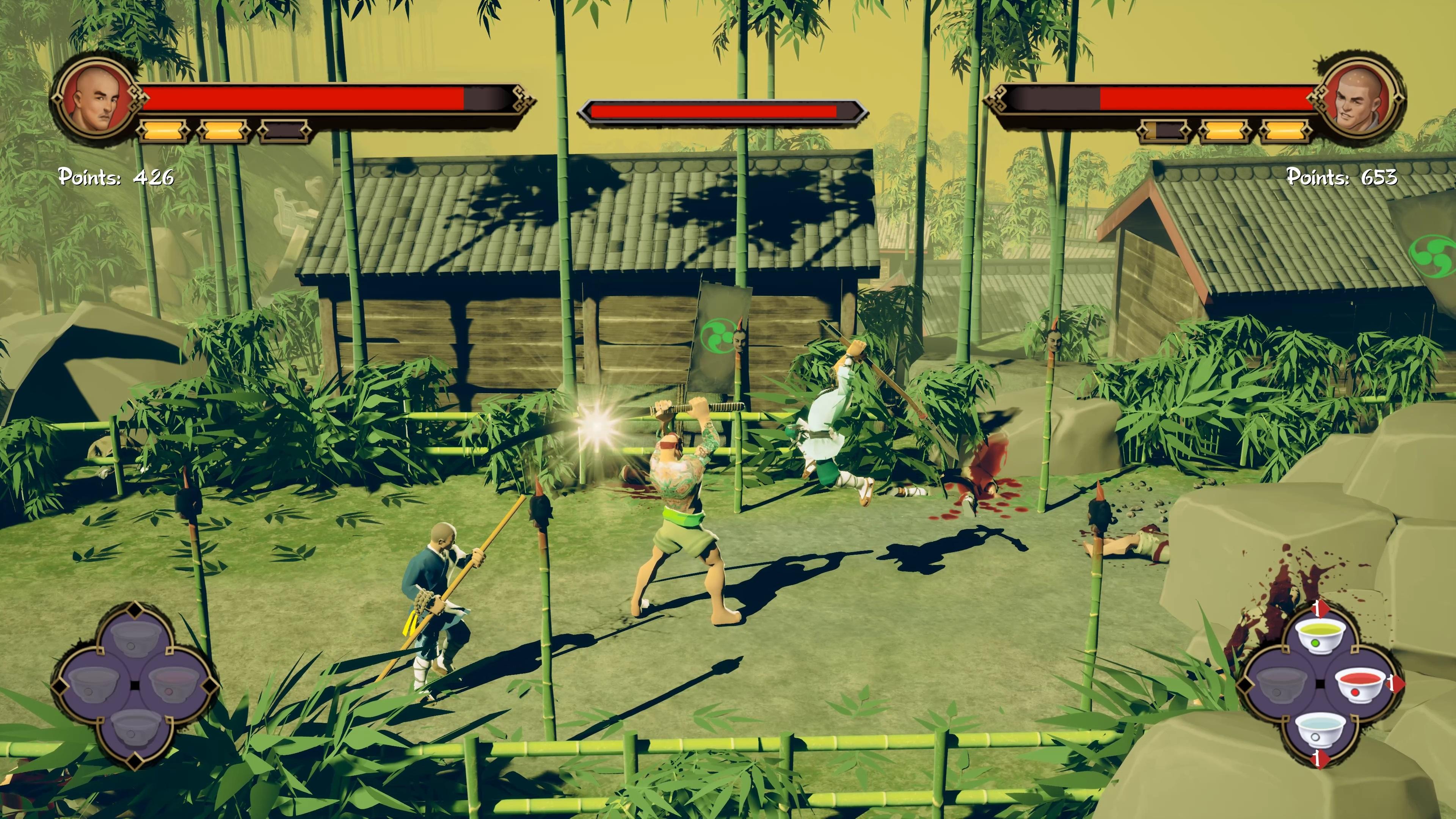 Скриншот №2 к 9 Monkeys of Shaolin