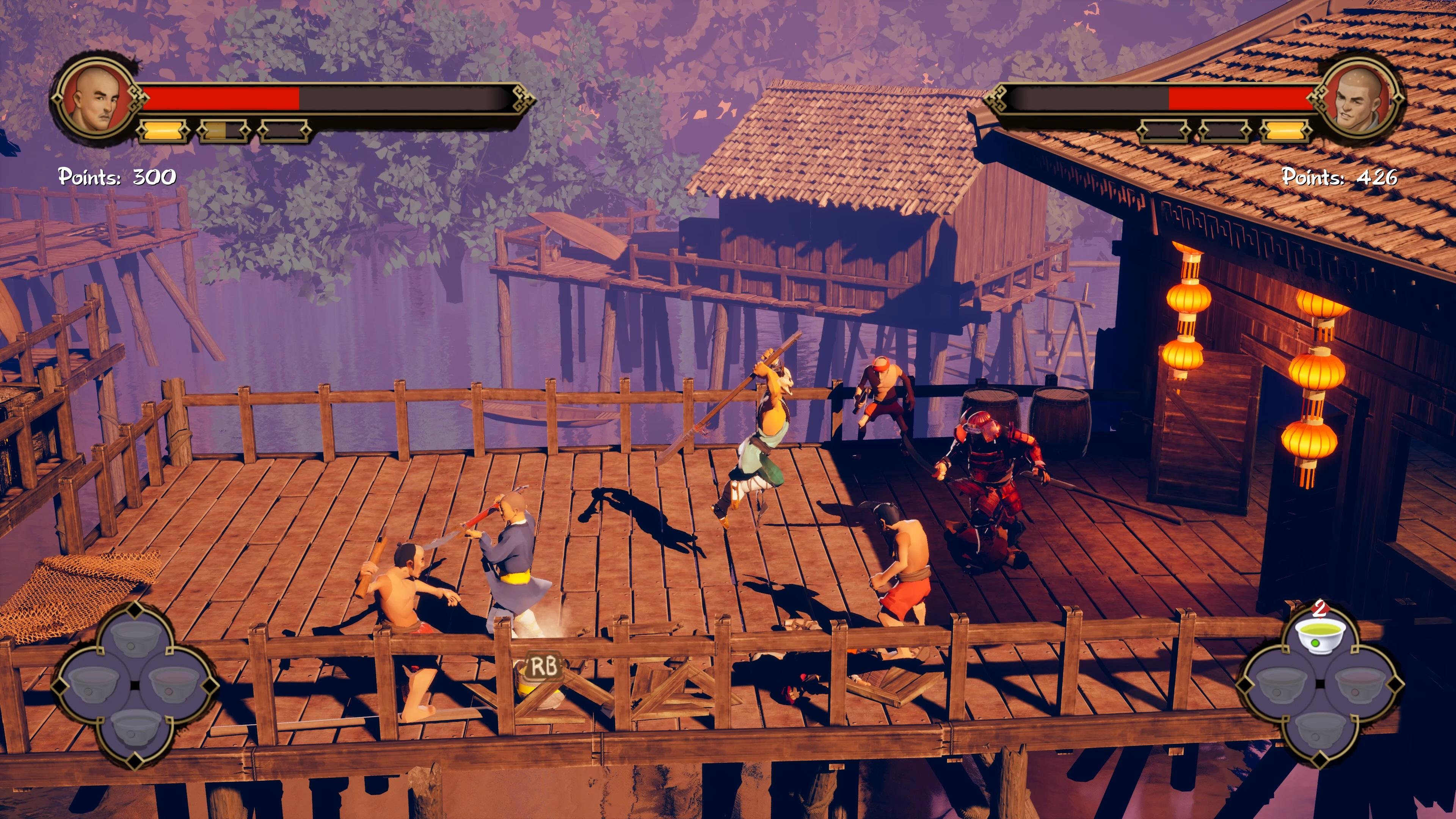 Скриншот №4 к 9 Monkeys of Shaolin