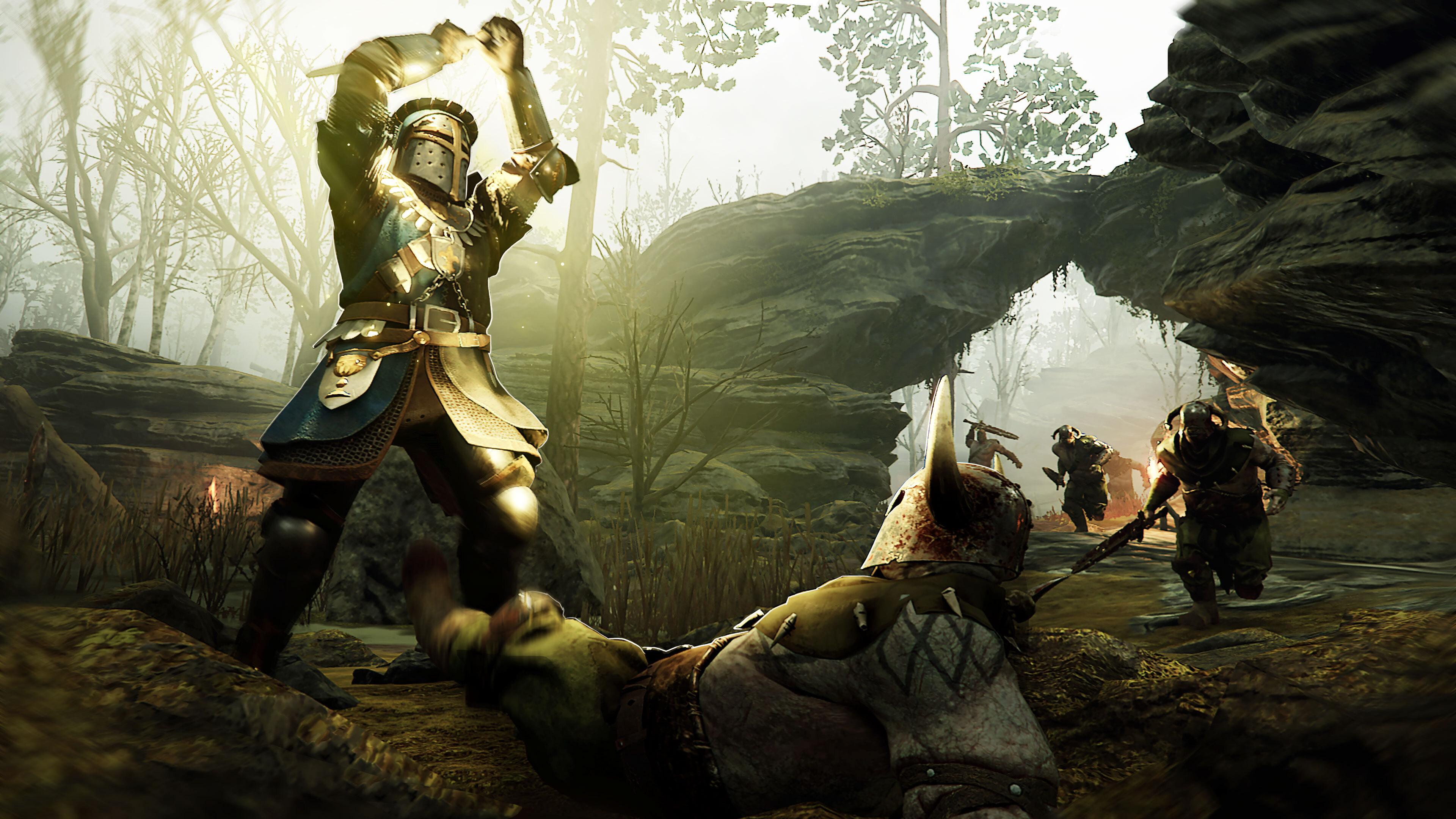 Скриншот №1 к Warhammer Vermintide 2 - Grail Knight