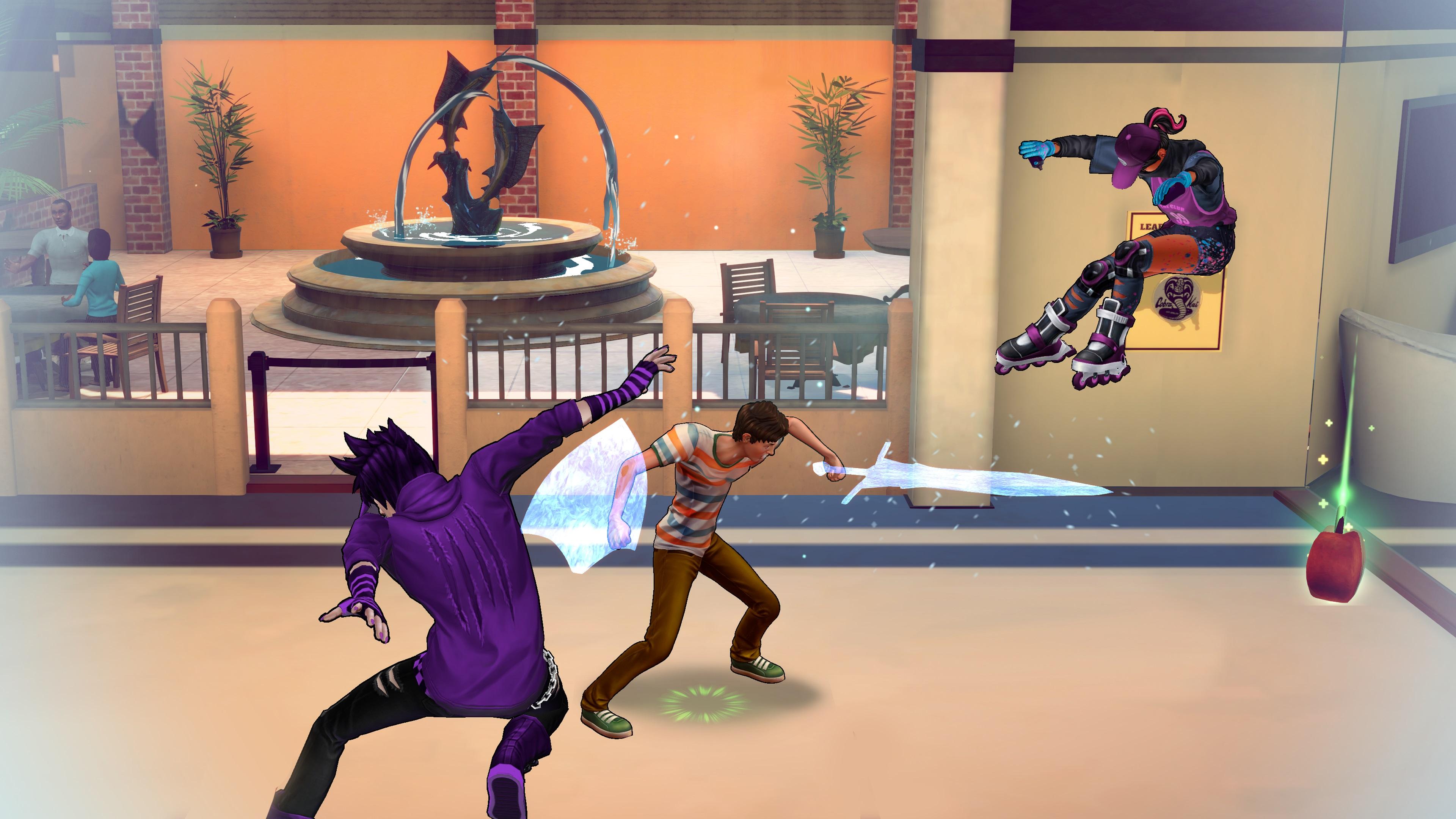 Скриншот №5 к Cobra Kai The Karate Kid Saga Continues