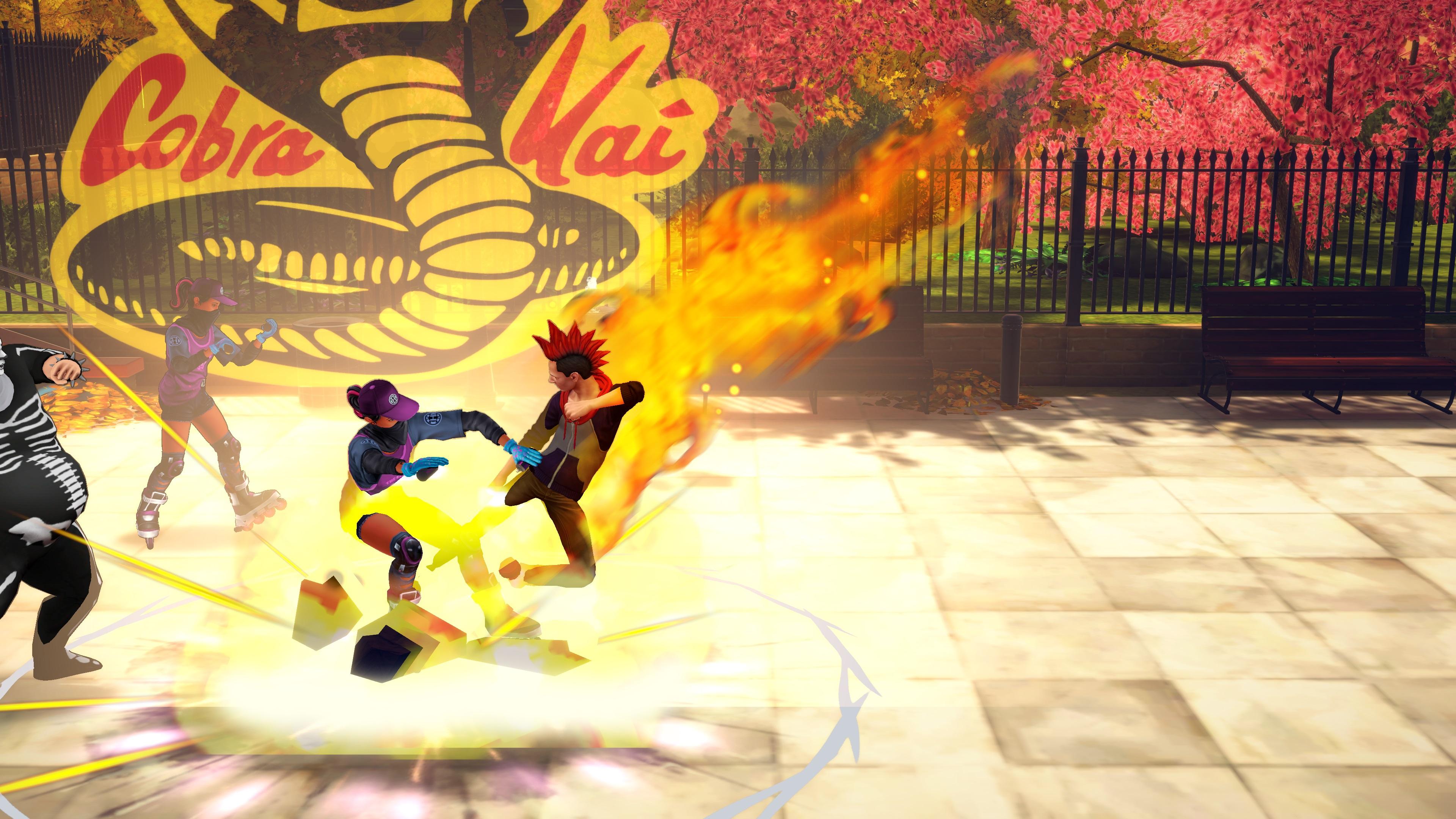 Скриншот №8 к Cobra Kai The Karate Kid Saga Continues