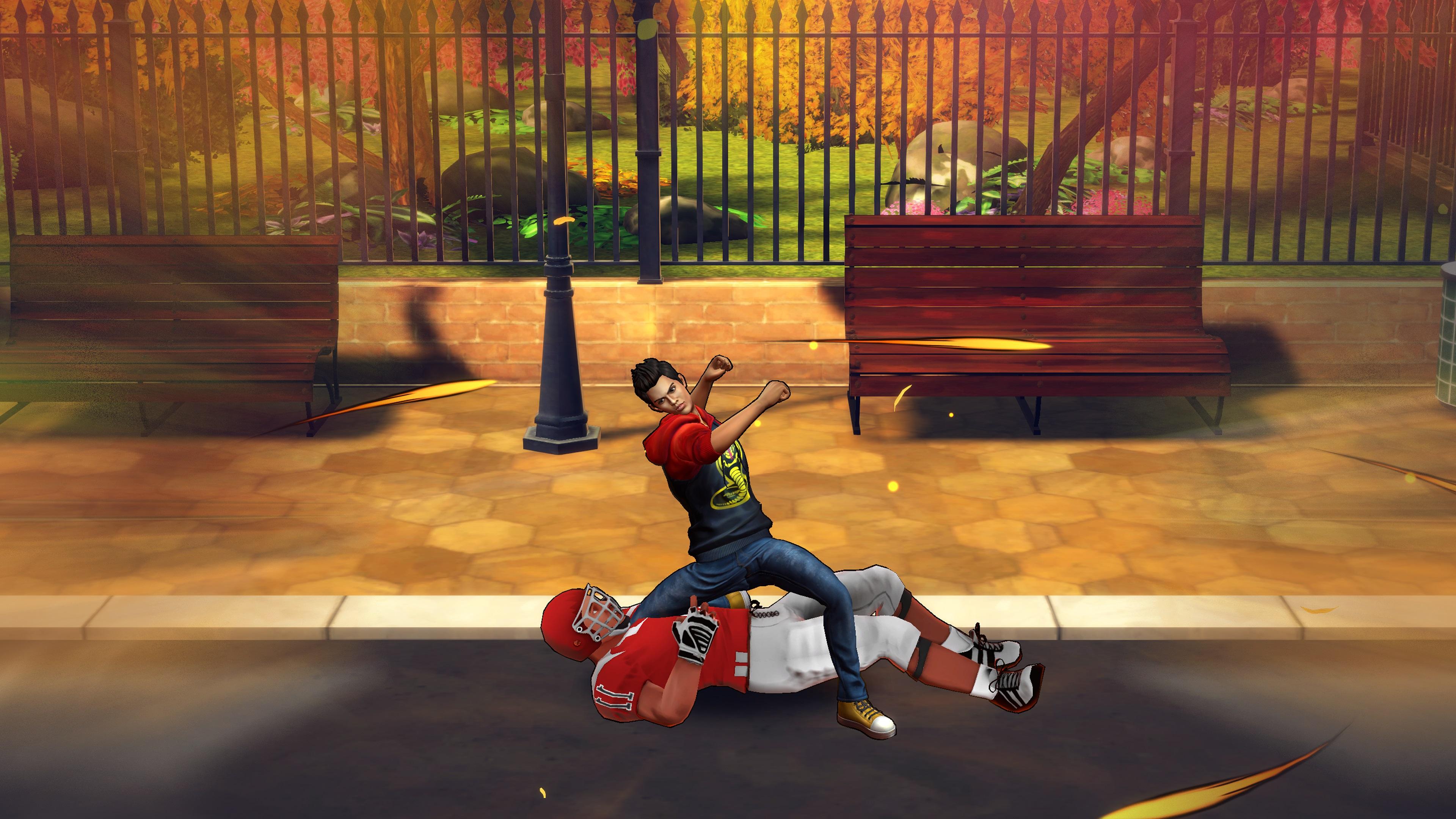 Скриншот №7 к Cobra Kai The Karate Kid Saga Continues