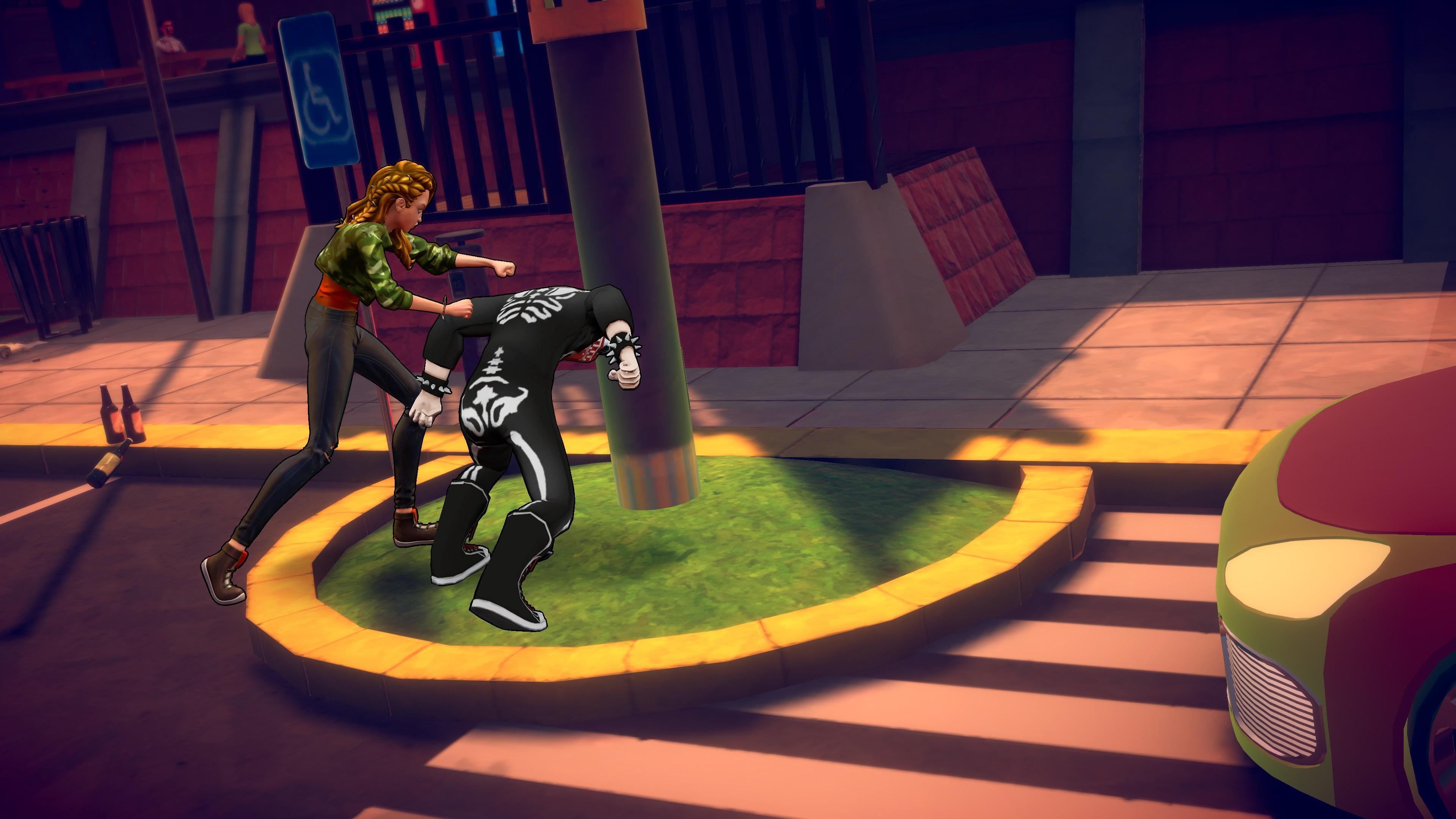 Скриншот №9 к Cobra Kai The Karate Kid Saga Continues