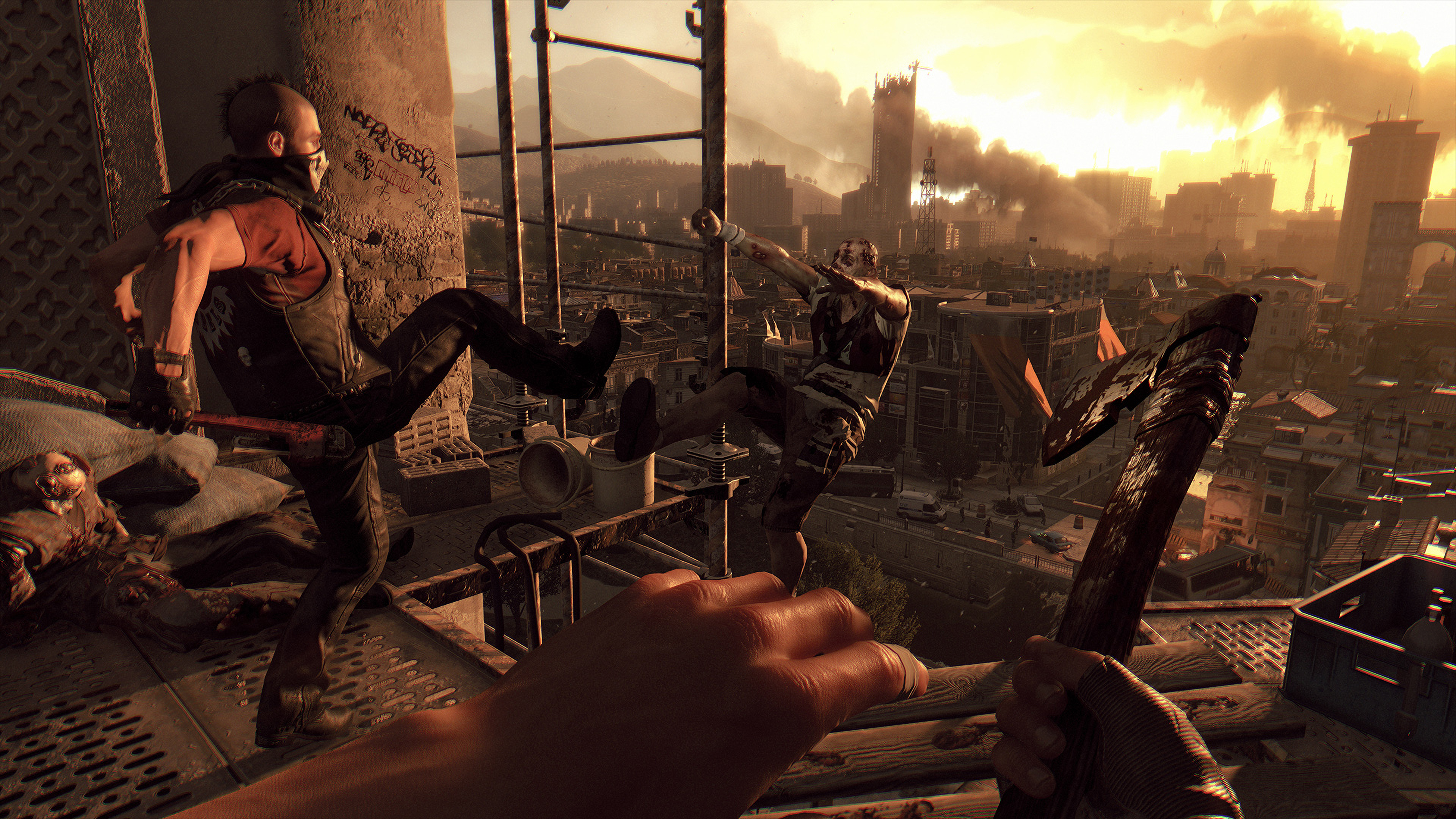 Скриншот №1 к Dying Light Anniversary Edition