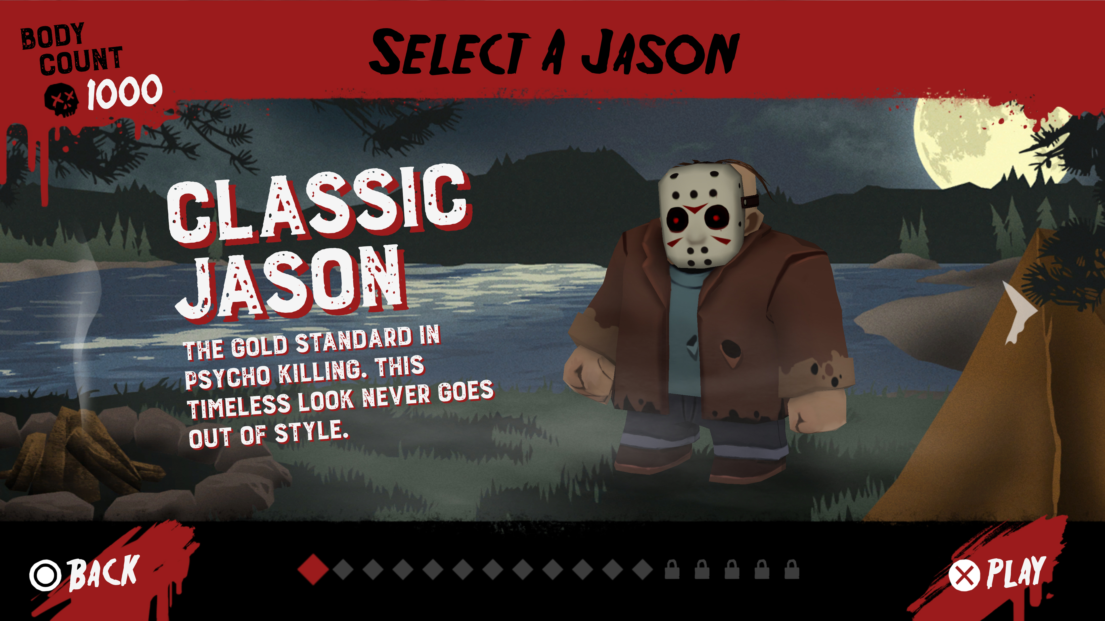 Скриншот №4 к Friday the 13th Killer Puzzle