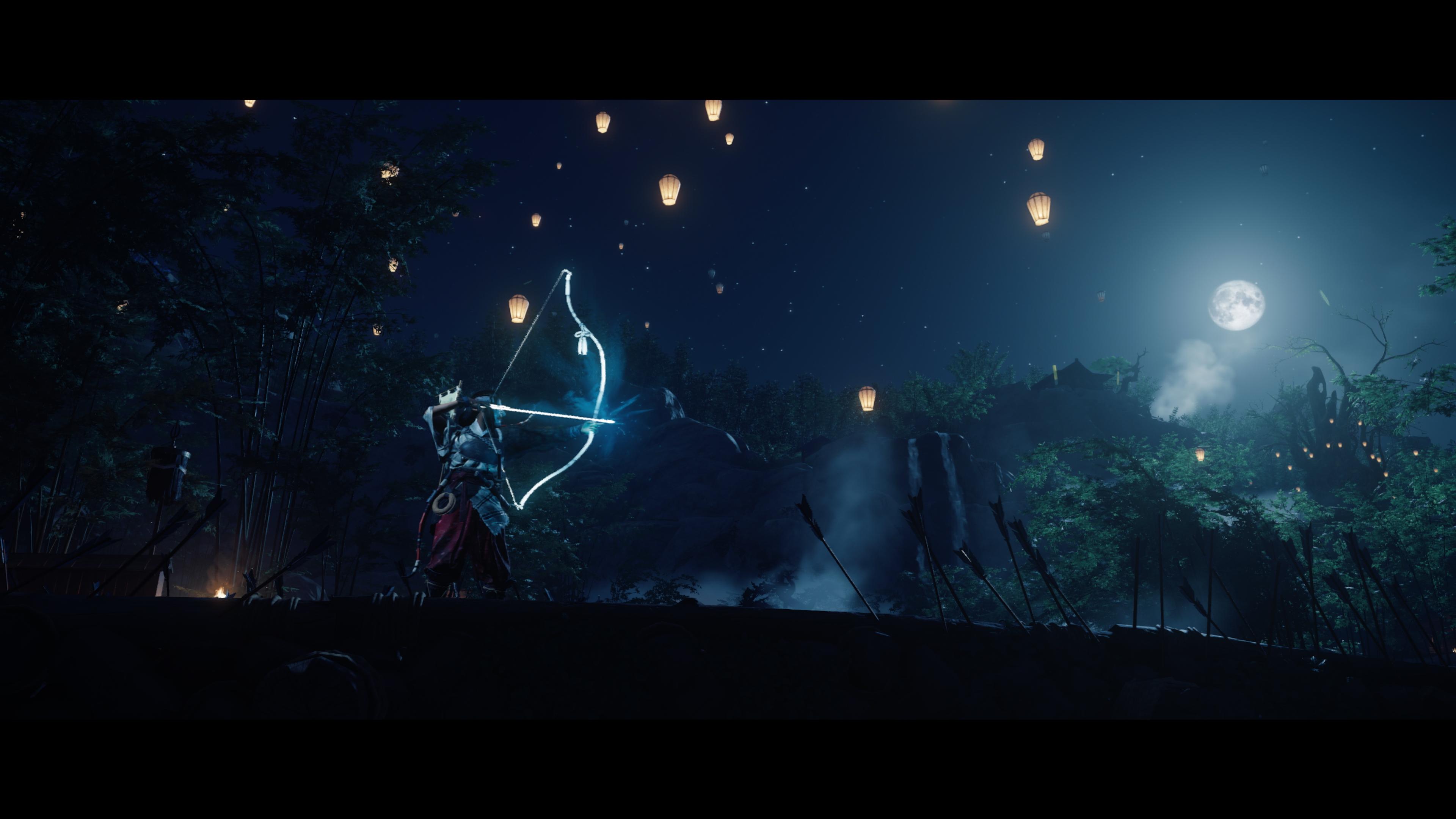 Скриншот №3 к Режим «Призрак Цусимы Легенды» разблокировать