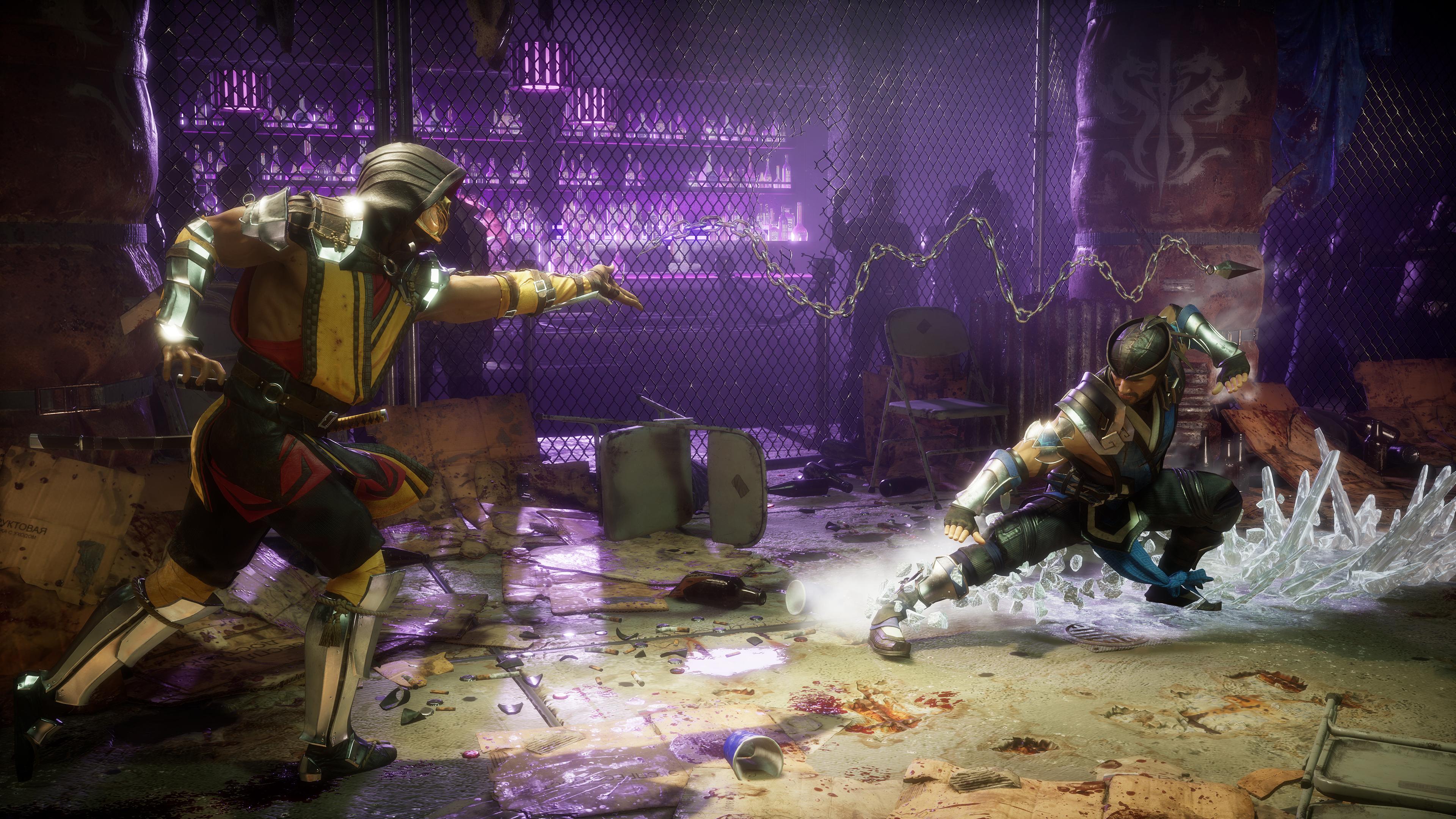 Скриншот №4 к Ultimate-издание Mortal Kombat11 PS4 and PS5