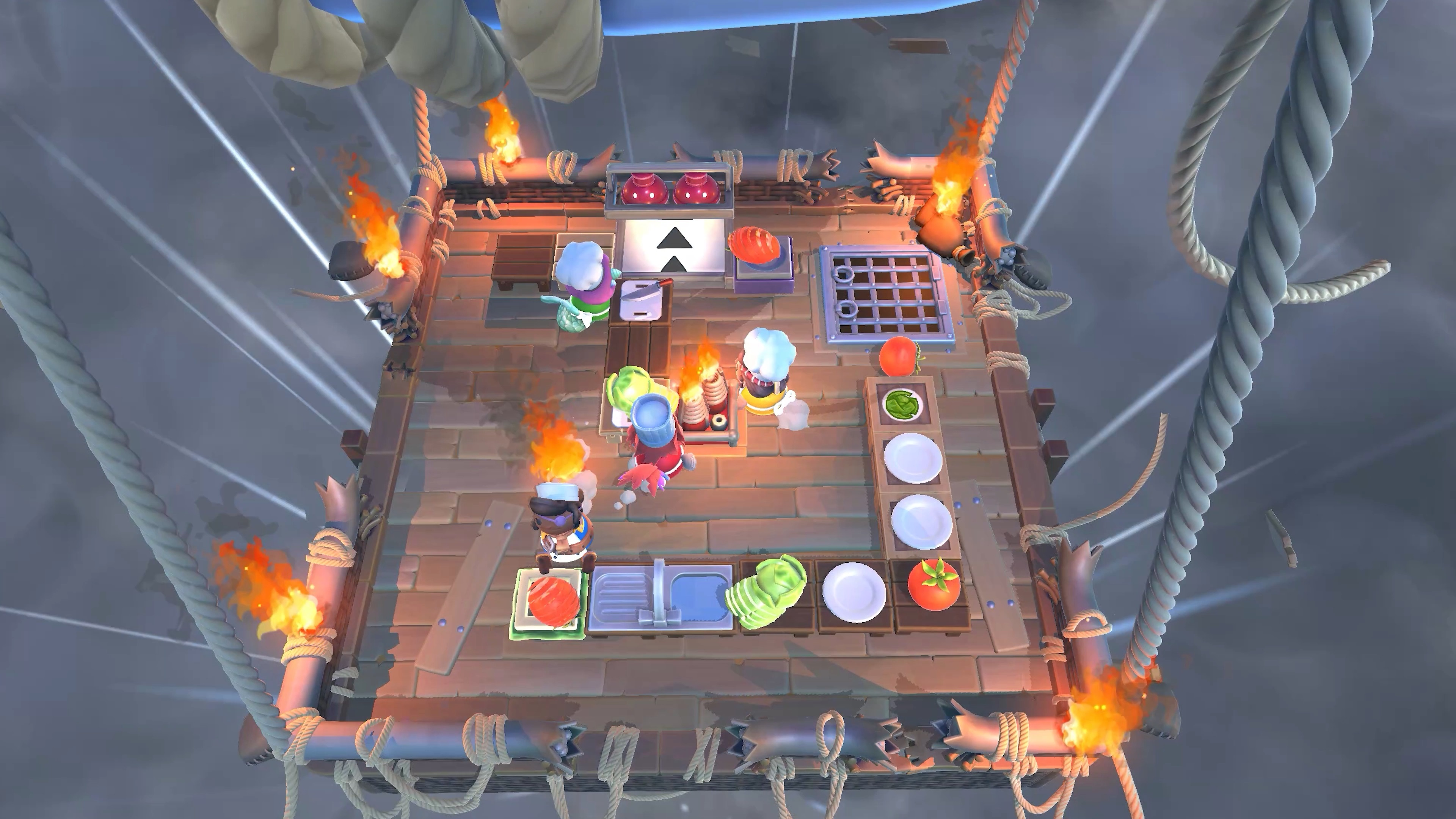 Скриншот №6 к Overcooked! All You Can Eat