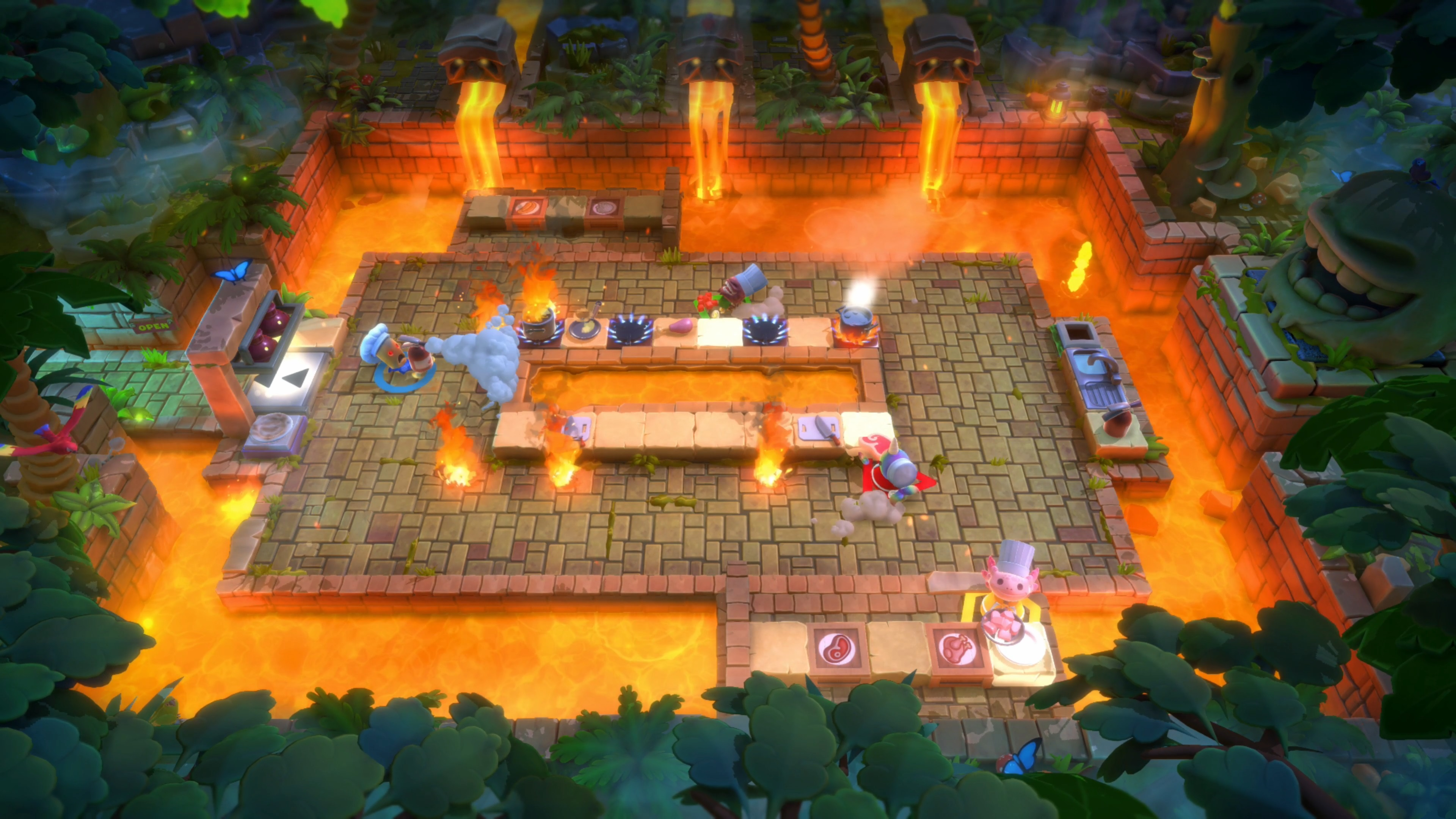 Скриншот №1 к Overcooked! All You Can Eat