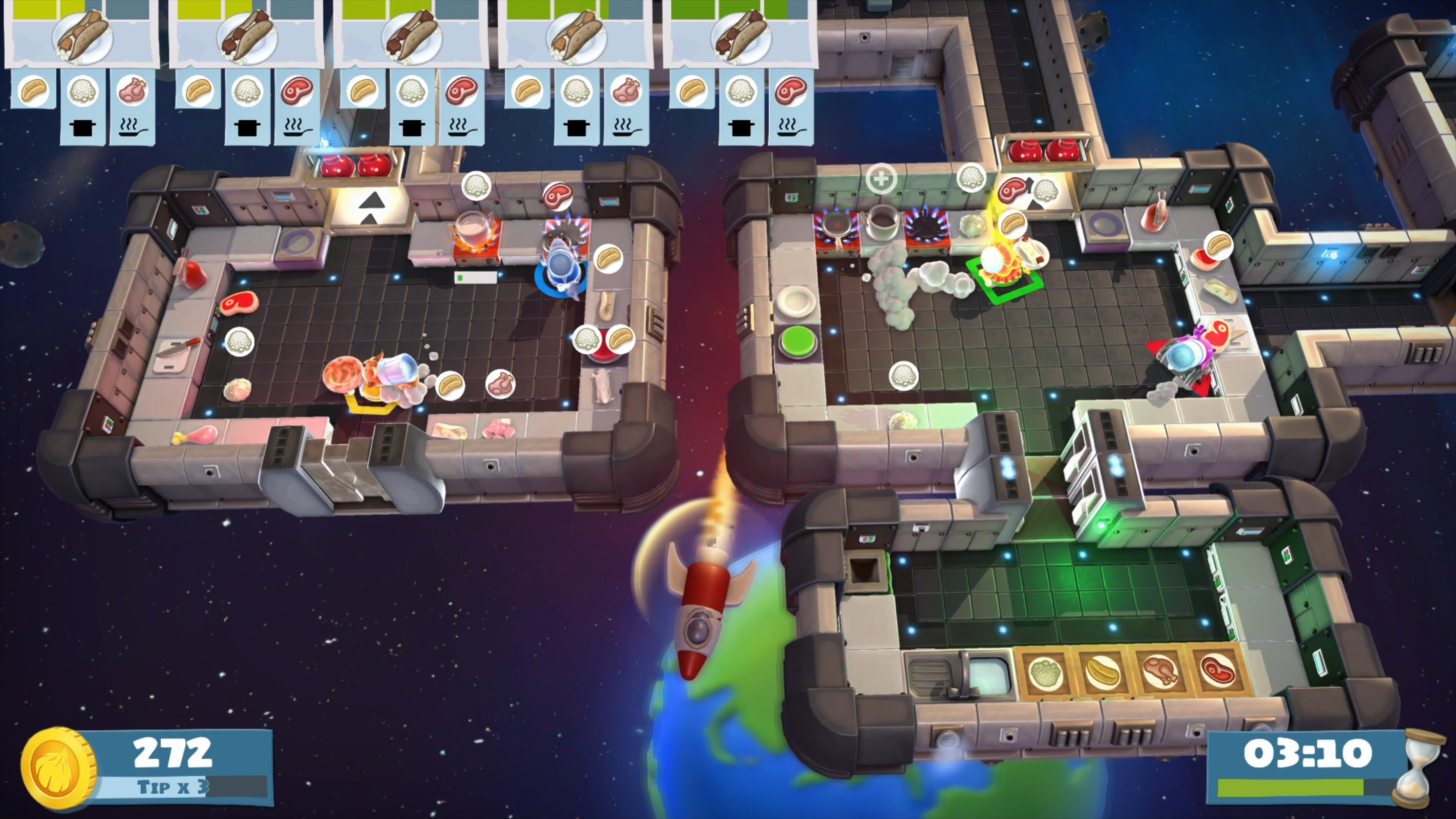 Скриншот №10 к Overcooked! All You Can Eat