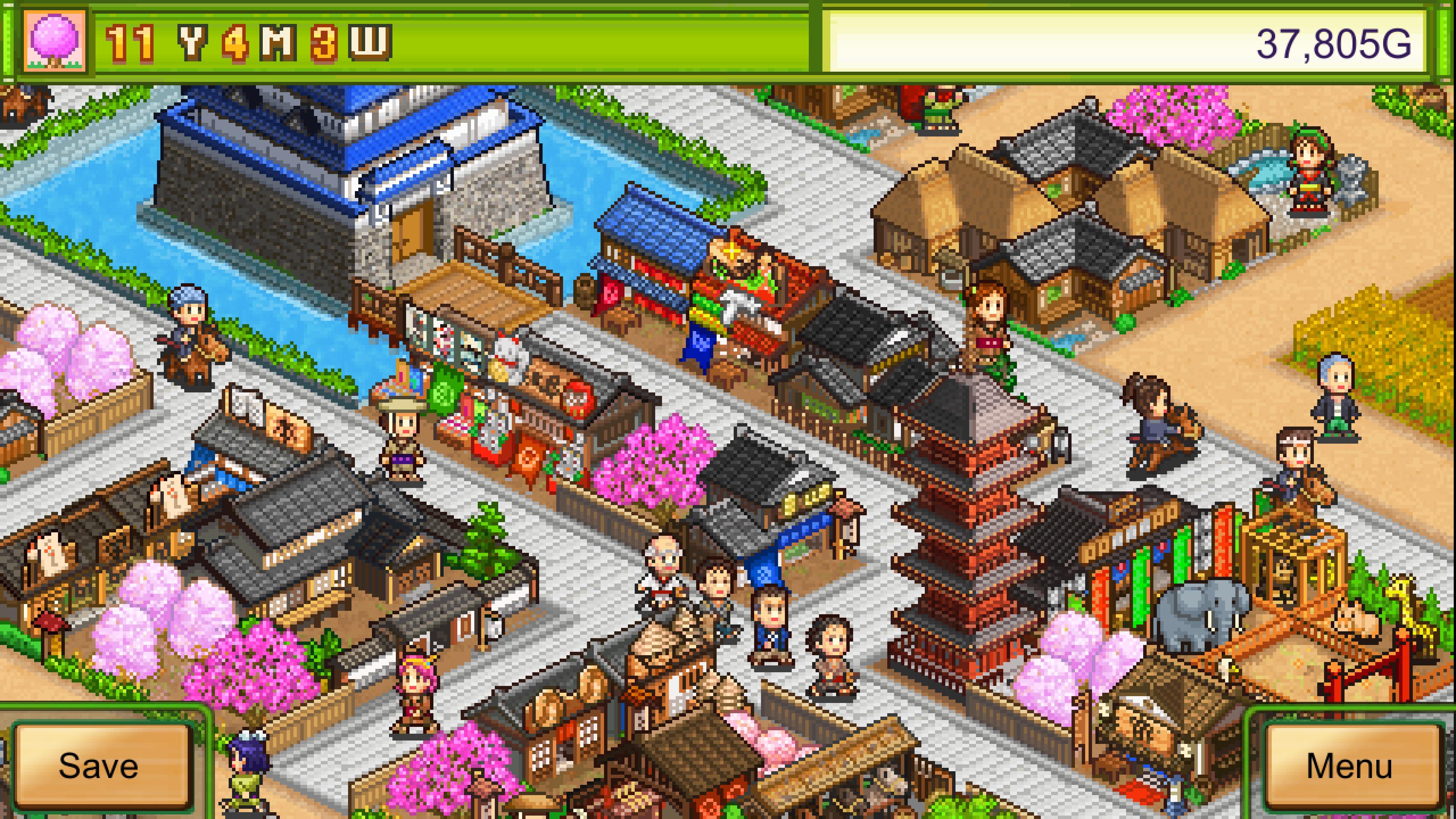 Скриншот №1 к Oh! Edo Towns