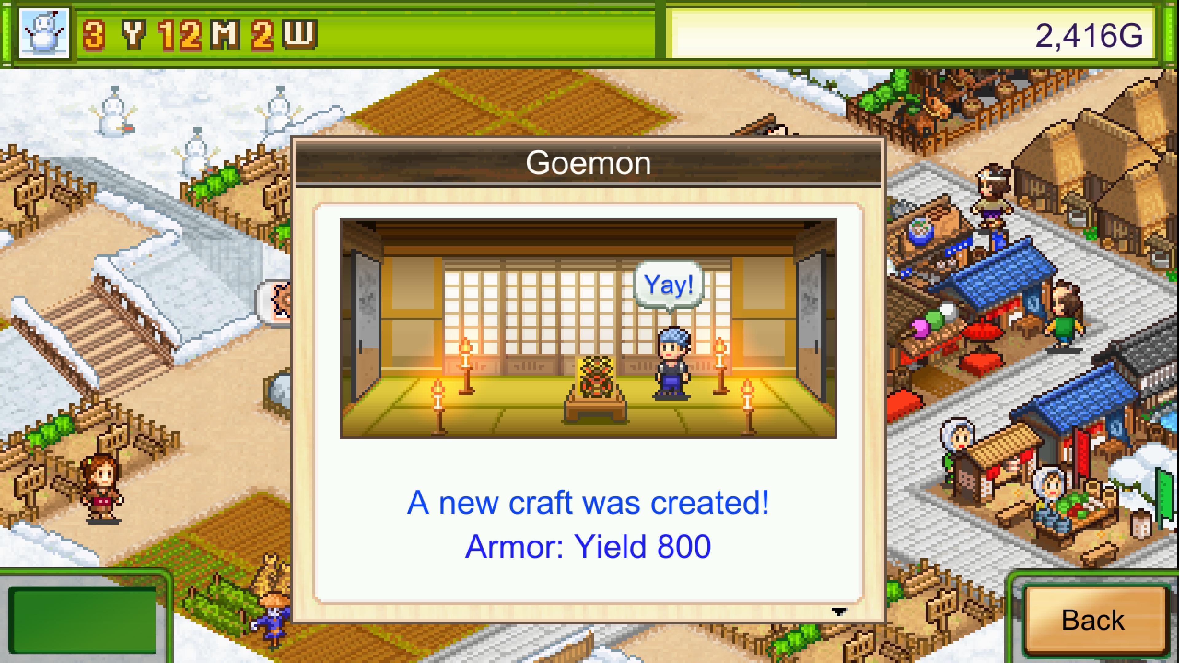Скриншот №3 к Oh! Edo Towns