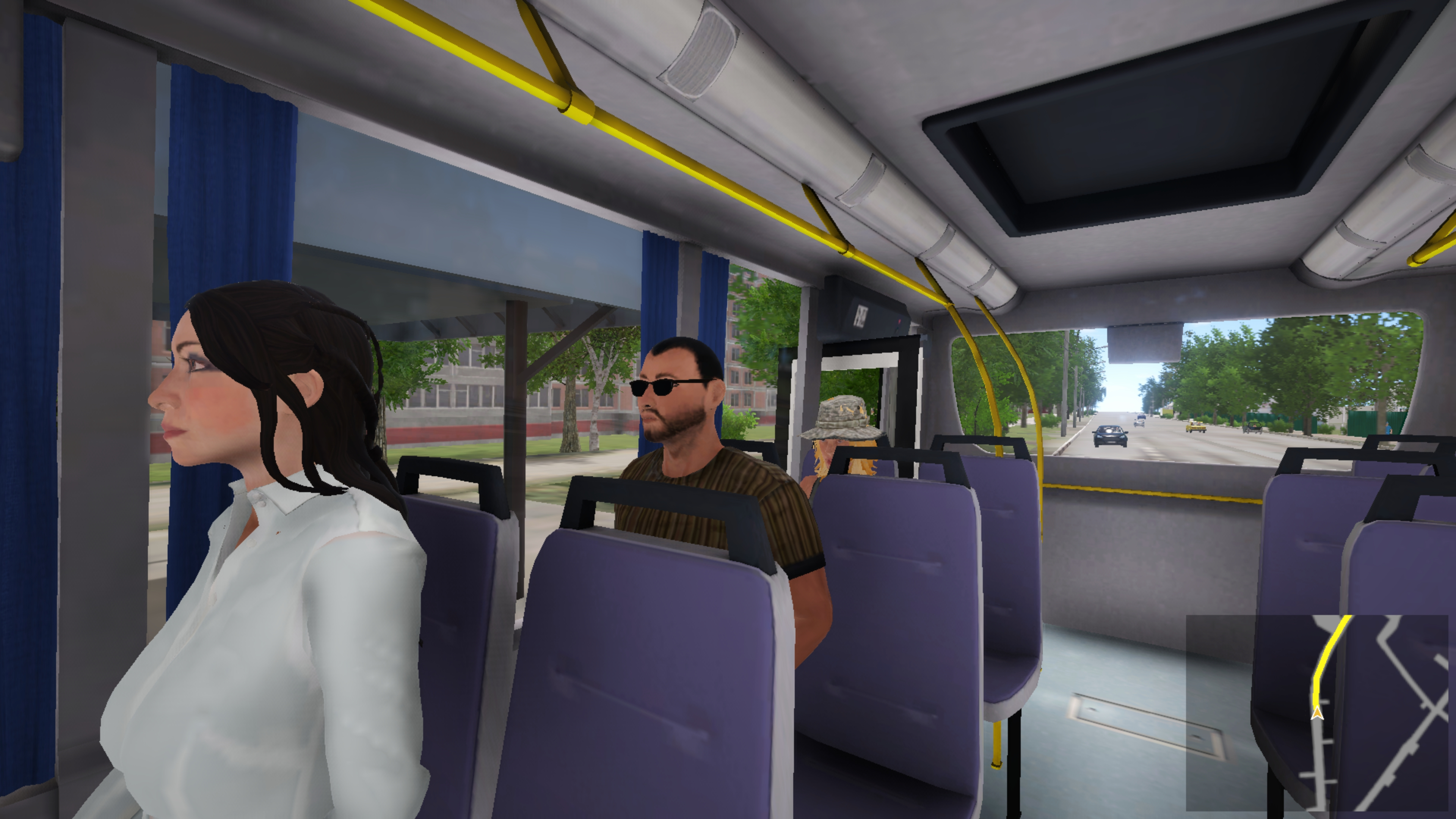 Скриншот №6 к Bus Driver Simulator