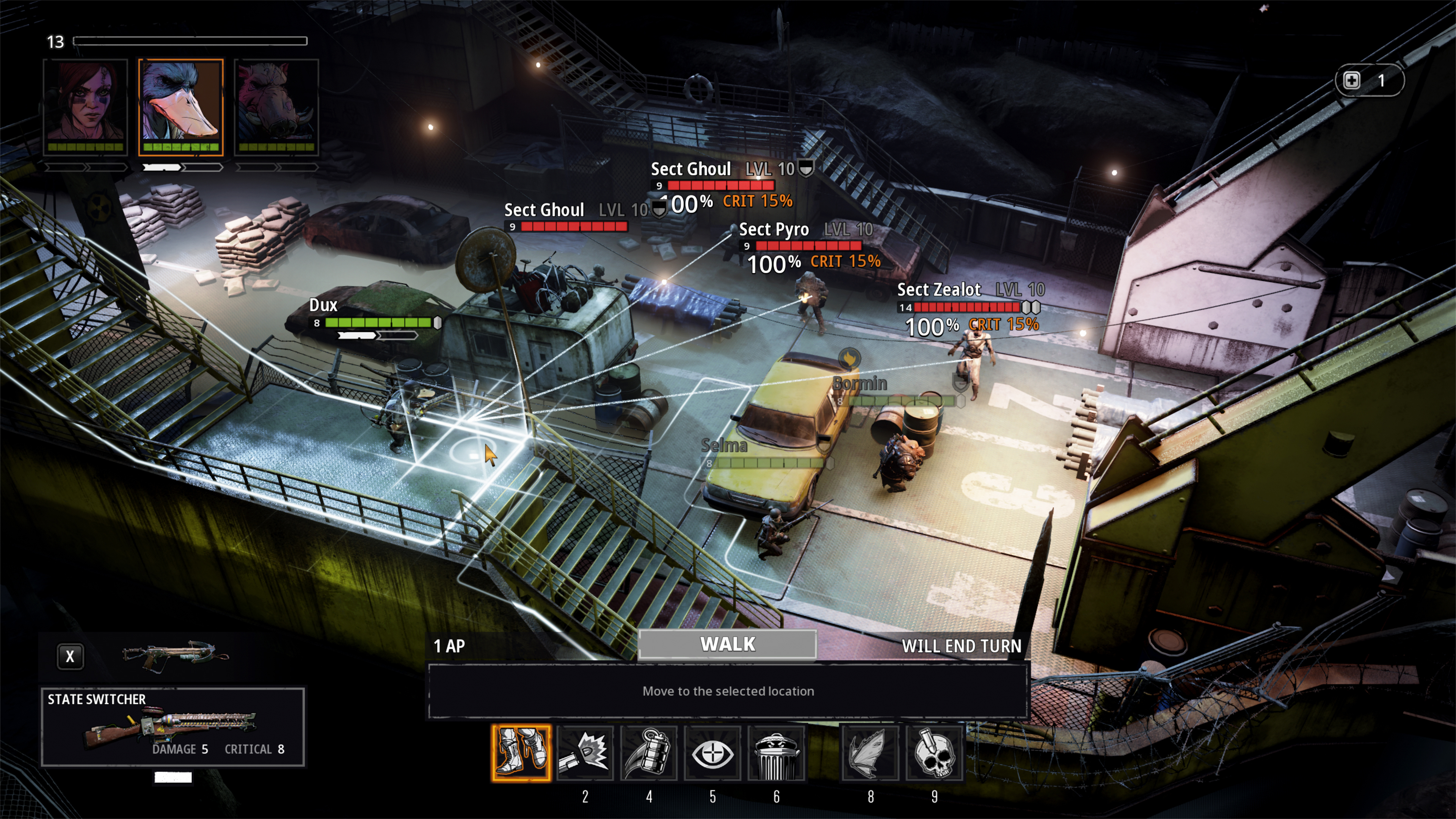 Скриншот №5 к Mutant Year Zero Road to Eden - Deluxe Edition