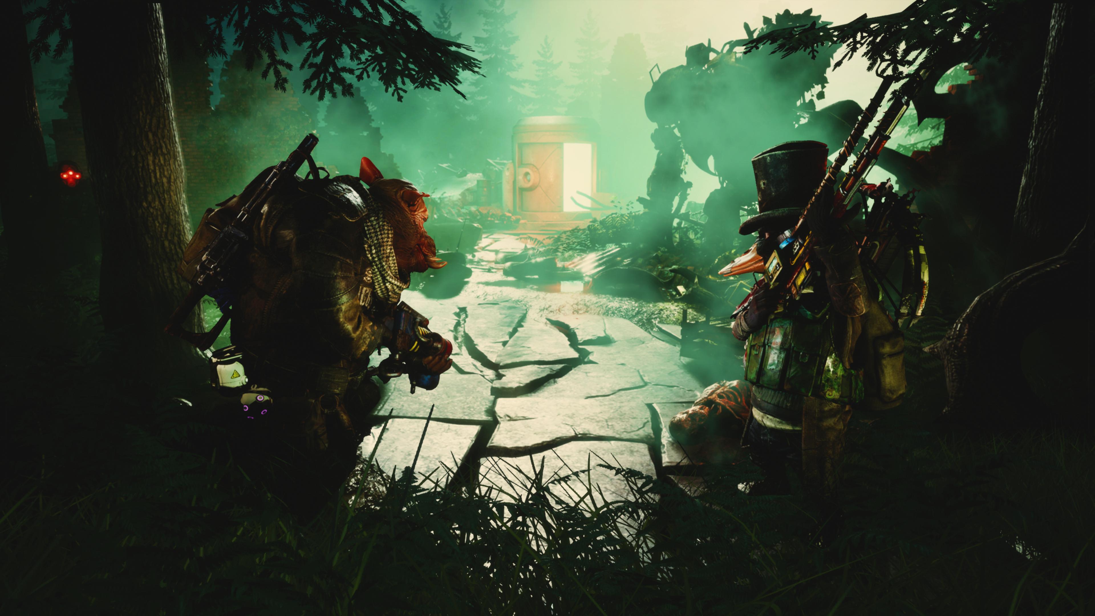 Скриншот №1 к Mutant Year Zero Road to Eden - Deluxe Edition